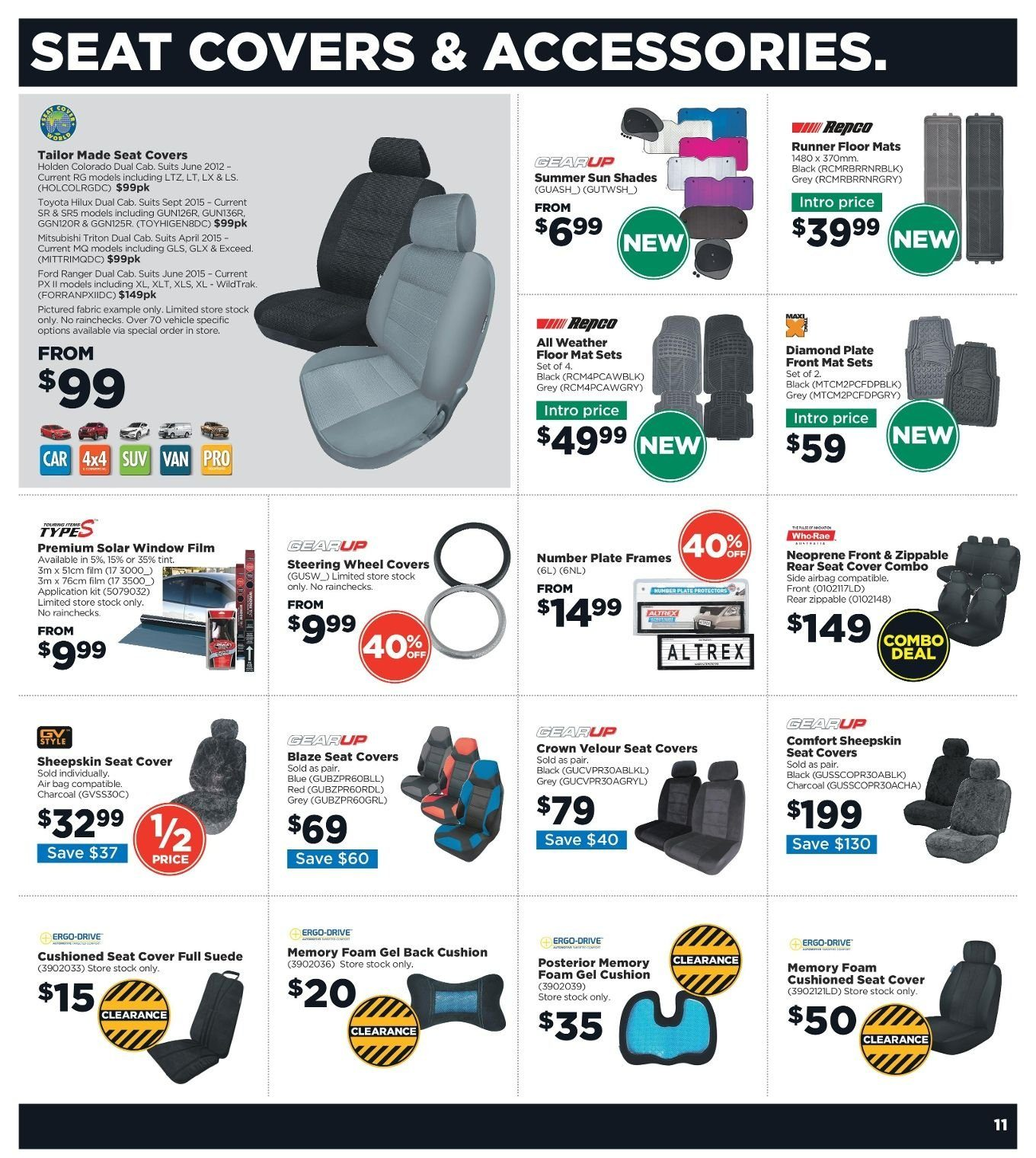 Repco catalogue  - 3.1.2019 - 13.1.2019. Page 11.