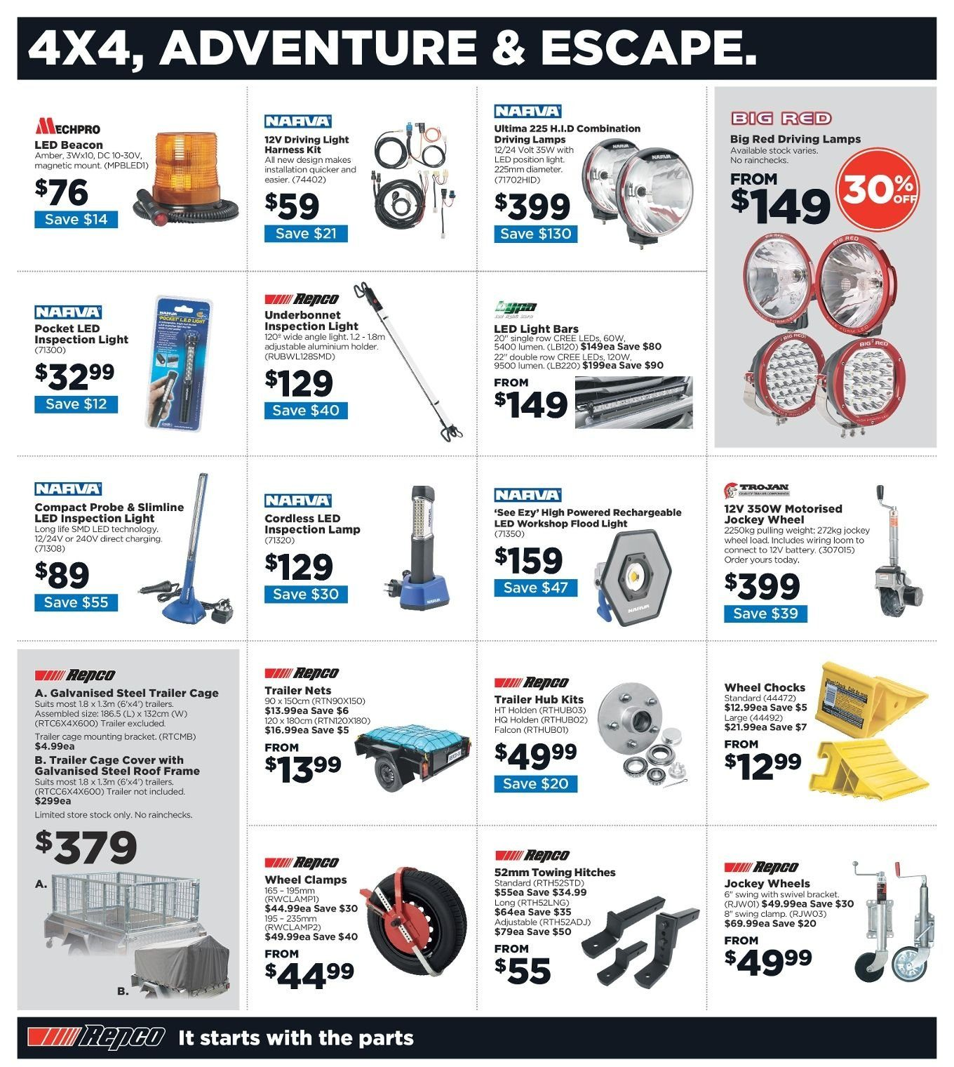 Repco catalogue  - 3.1.2019 - 13.1.2019. Page 12.