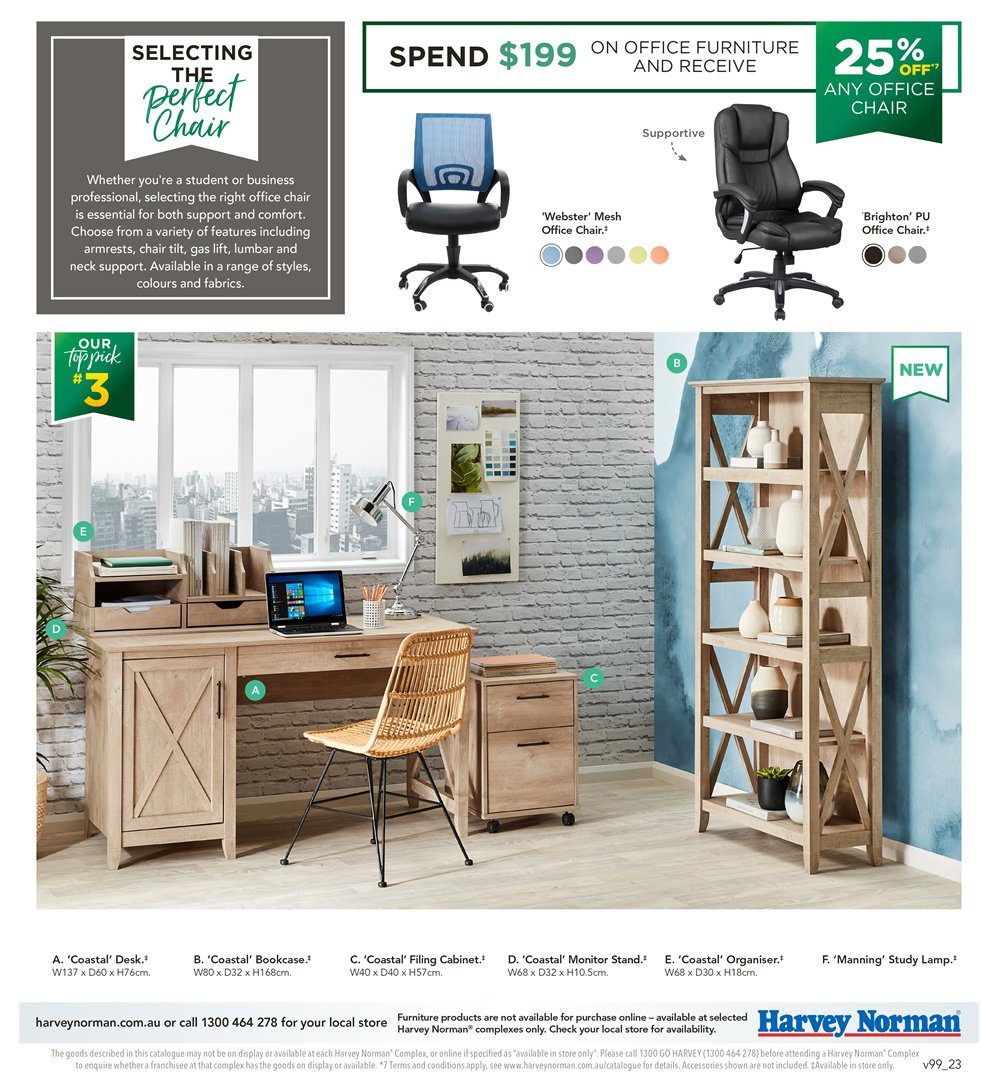 Harvey Norman catalogue  - 8.1.2019 - 27.1.2019. Page 23.