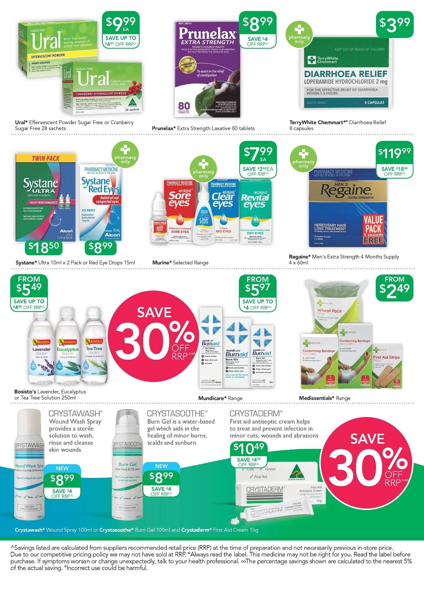 TerryWhite Chemmart catalogue  - 14.2.2019 - 5.3.2019. Page 4.