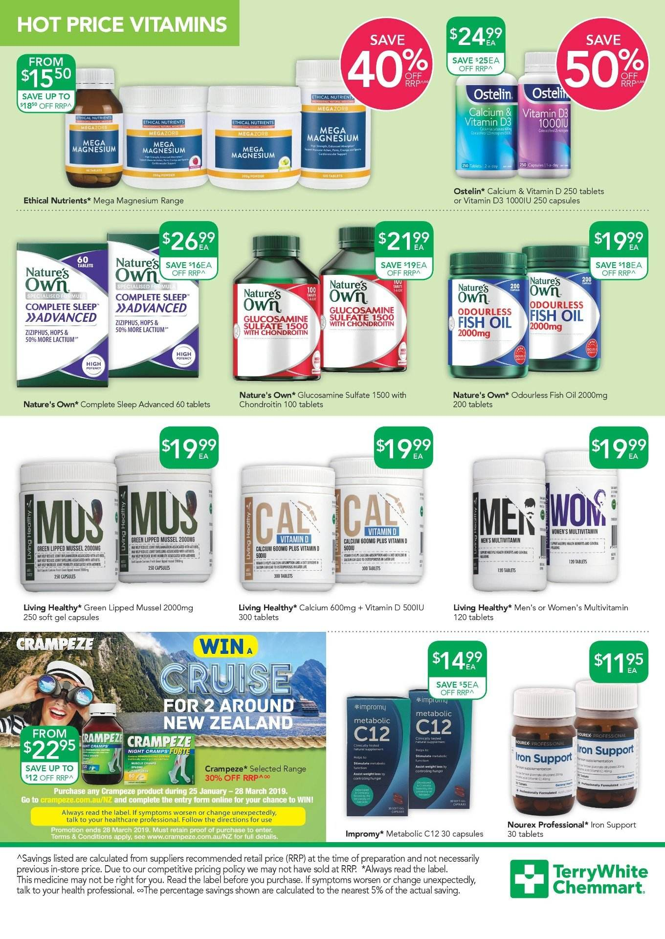 TerryWhite Chemmart catalogue  - 14.2.2019 - 5.3.2019. Page 7.