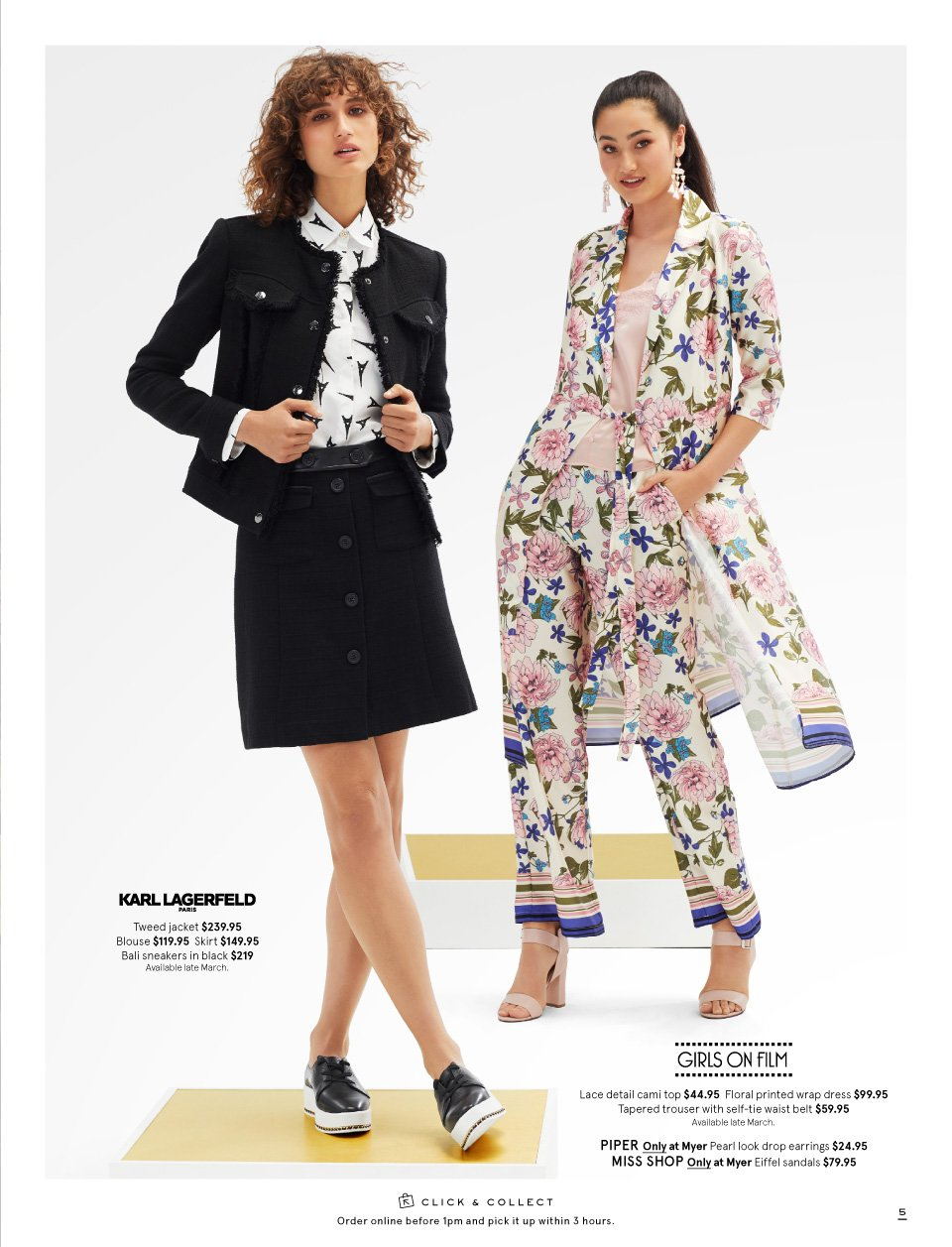Myer catalogue  - 26.2.2019 - 17.3.2019. Page 5.