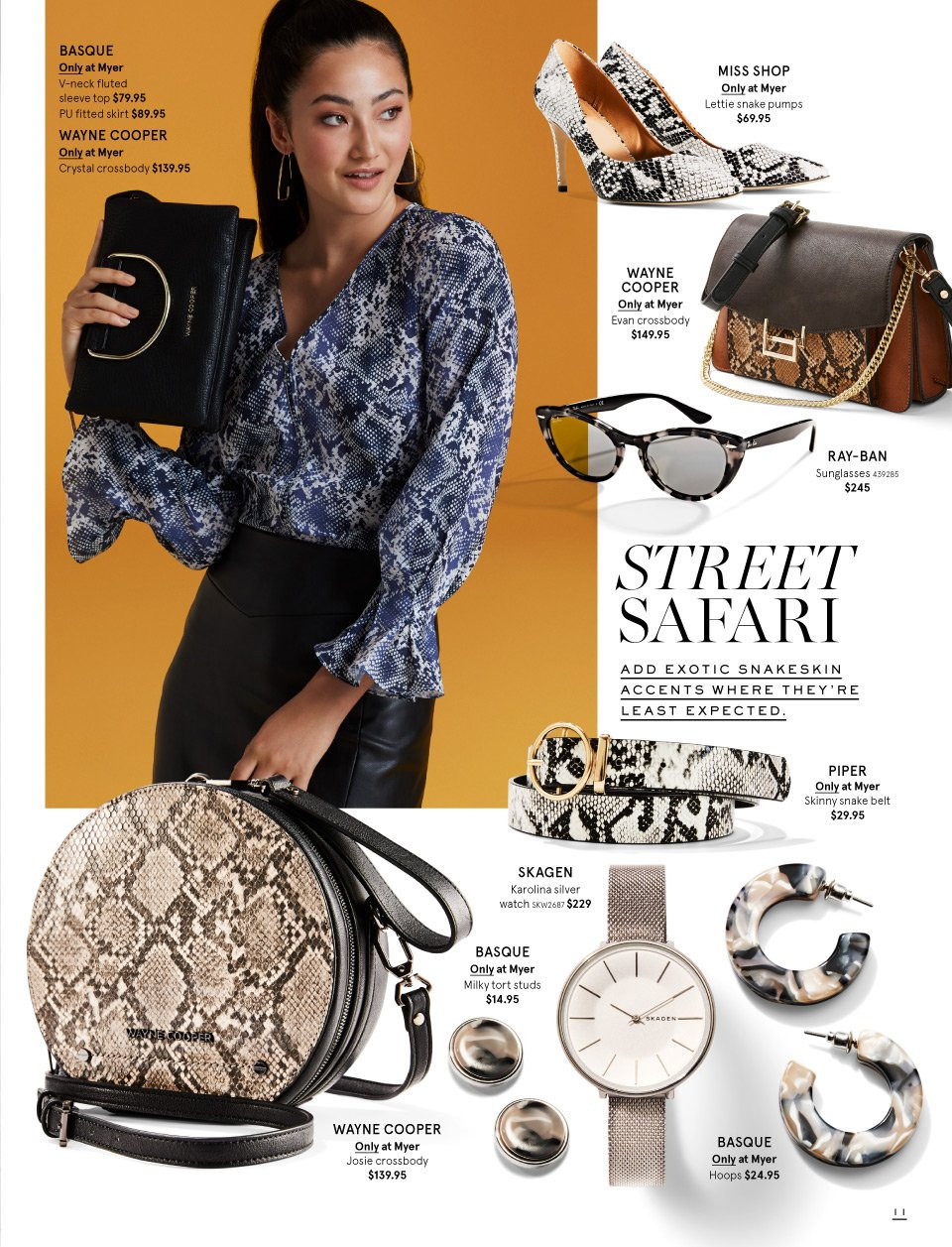 Myer catalogue  - 26.2.2019 - 17.3.2019. Page 11.