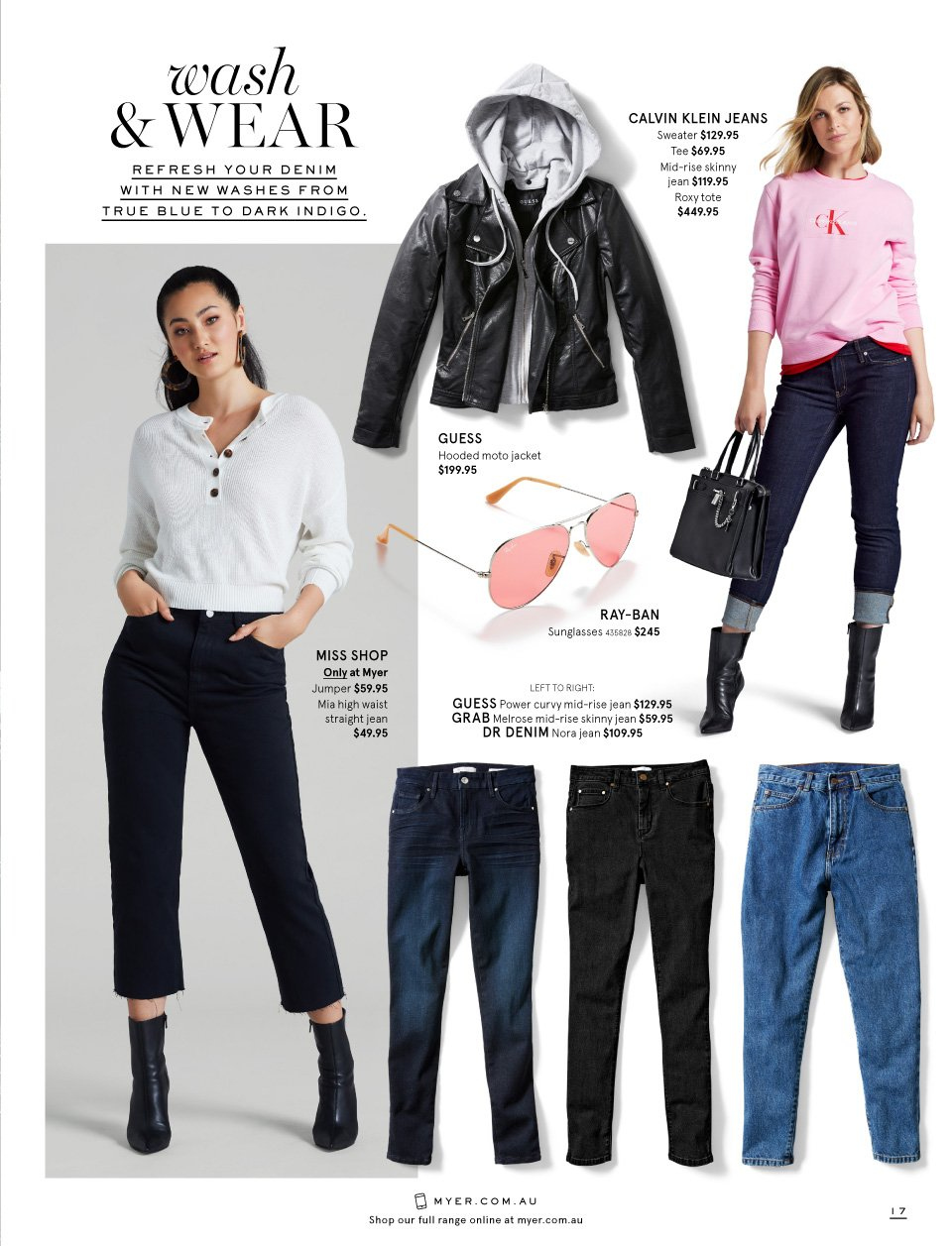 Myer catalogue  - 26.2.2019 - 17.3.2019. Page 17.