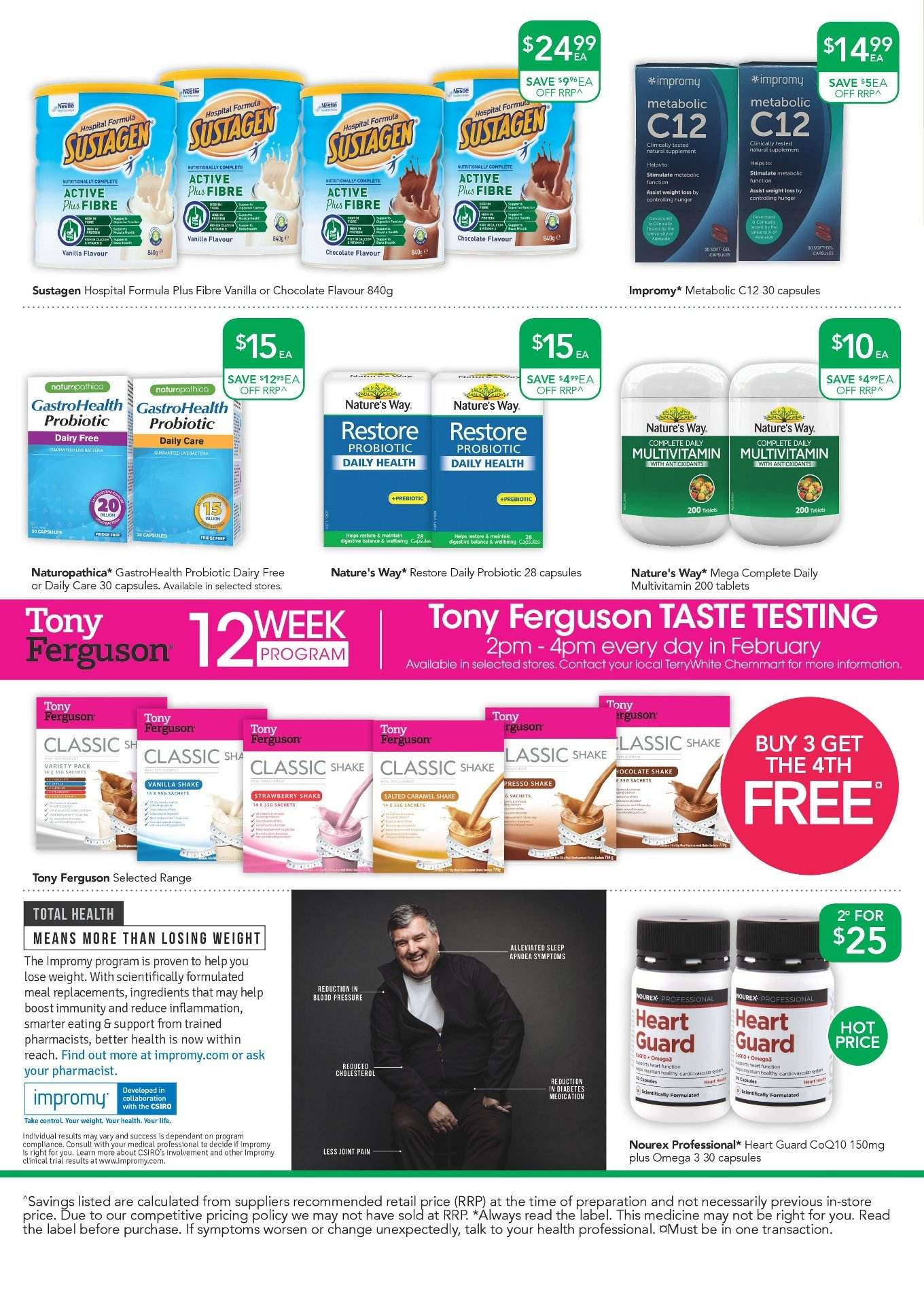 TerryWhite Chemmart catalogue  - 7.3.2019 - 26.3.2019. Page 4.