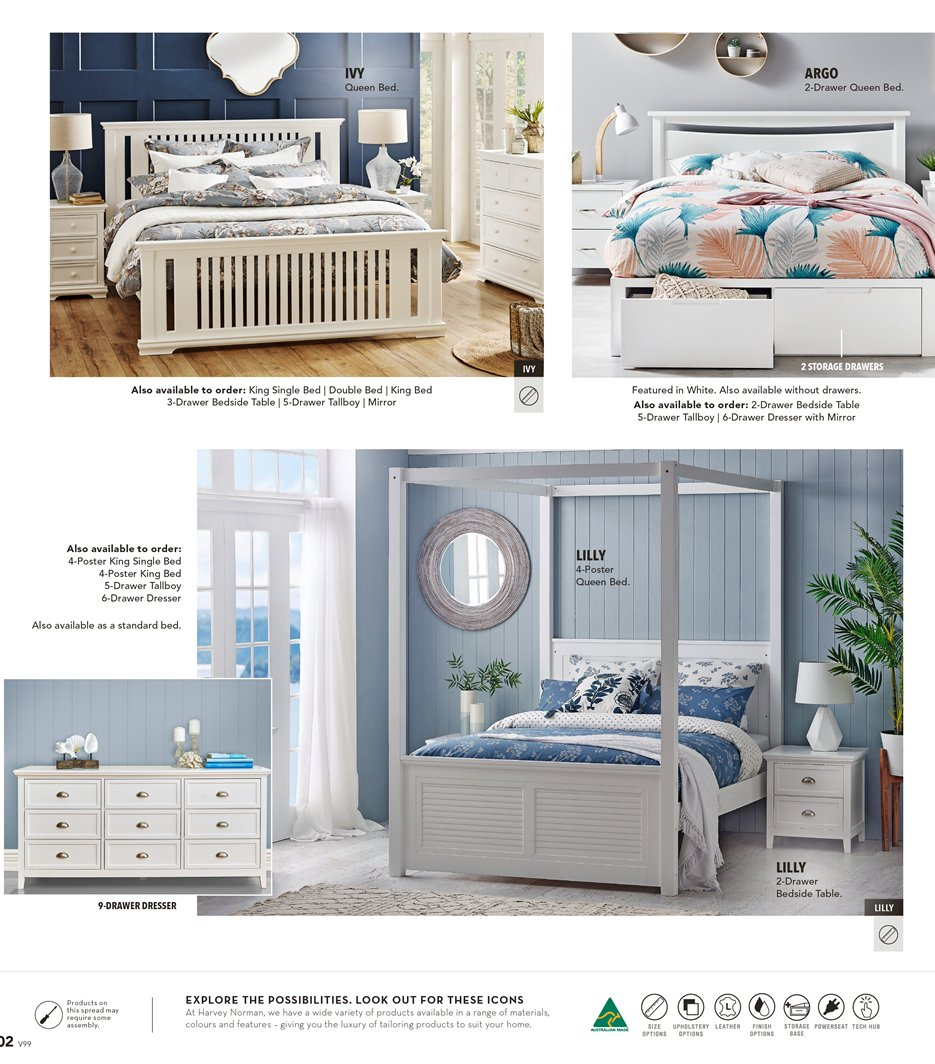 Harvey Norman catalogue  - 8.3.2019 - 31.3.2019. Page 2.