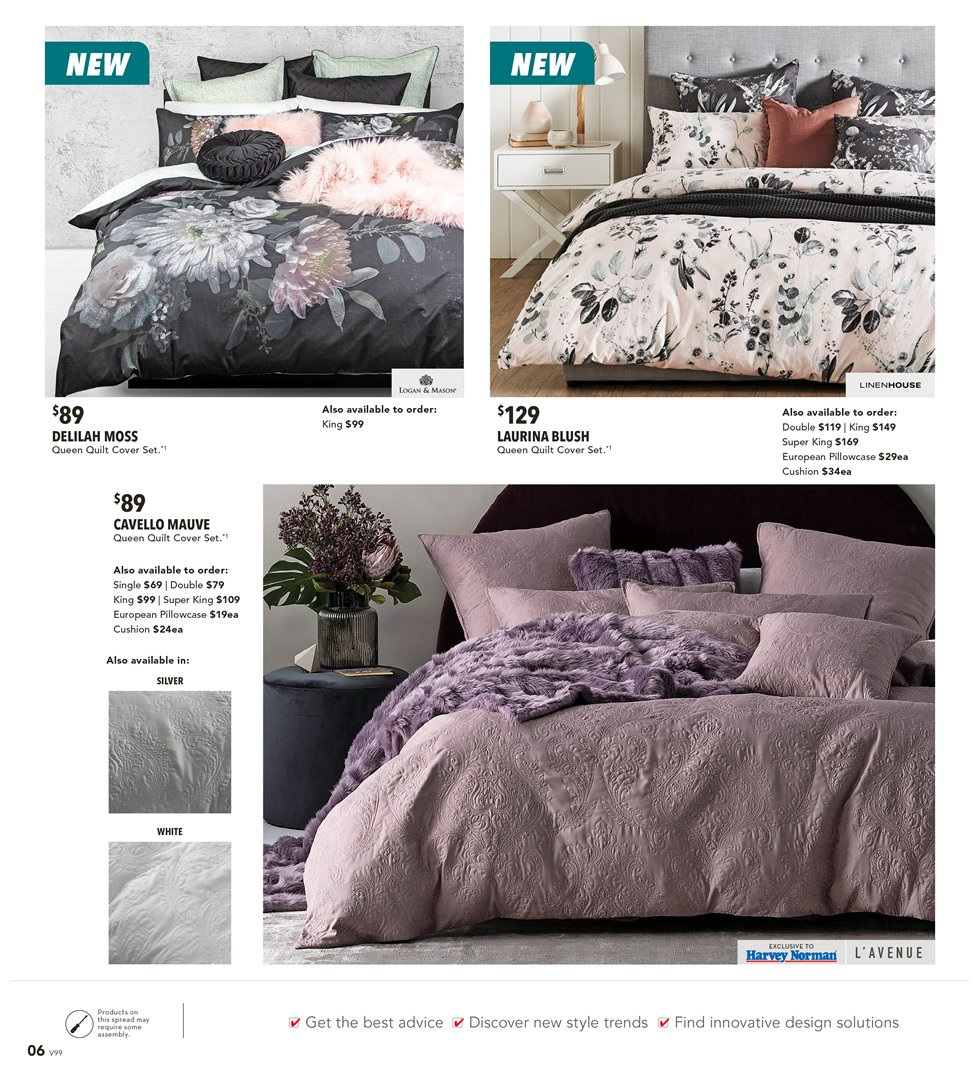 Harvey Norman catalogue  - 8.3.2019 - 31.3.2019. Page 6.