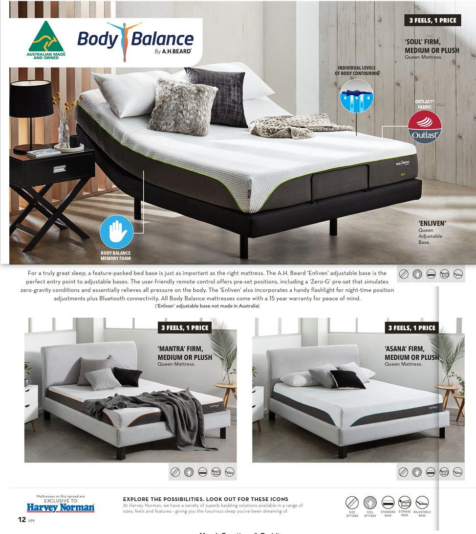 Harvey Norman catalogue  - 8.3.2019 - 31.3.2019. Page 12.