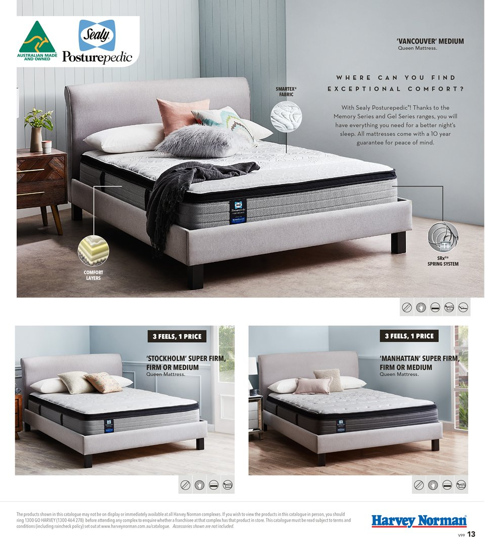 Harvey Norman catalogue  - 8.3.2019 - 31.3.2019. Page 13.
