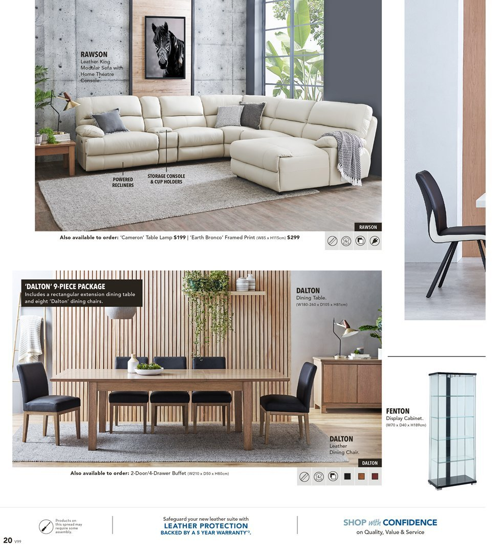 Harvey Norman catalogue  - 8.3.2019 - 31.3.2019. Page 20.