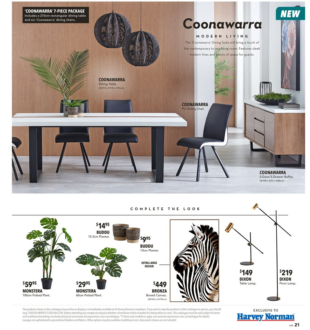 Harvey Norman catalogue  - 8.3.2019 - 31.3.2019. Page 21.