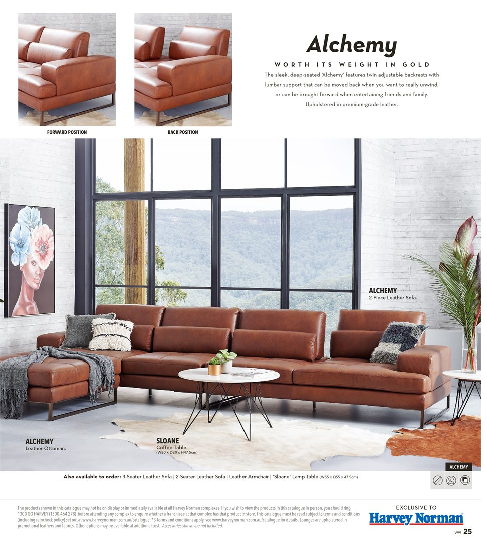 Harvey Norman catalogue  - 8.3.2019 - 31.3.2019. Page 25.