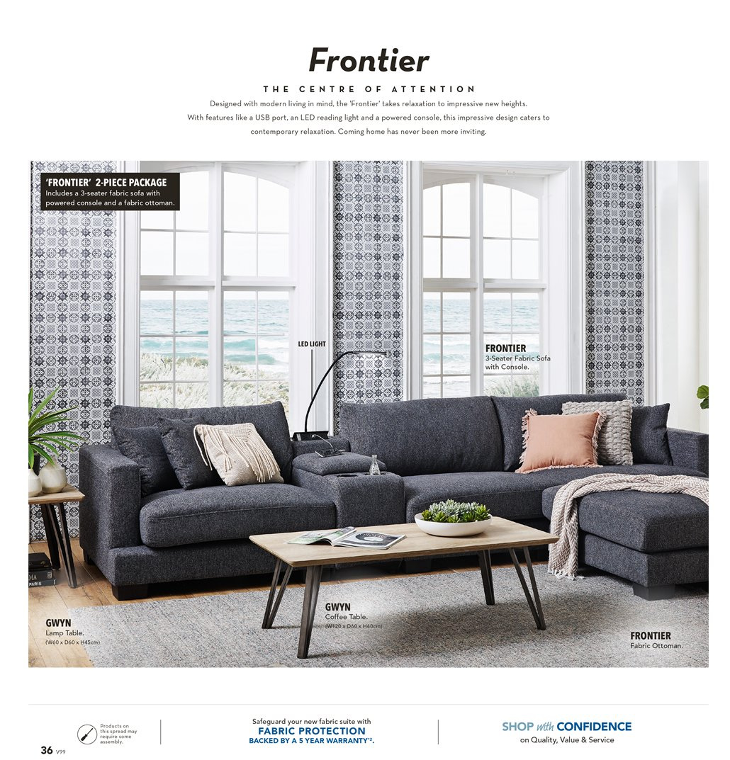 Harvey Norman catalogue  - 8.3.2019 - 31.3.2019. Page 36.