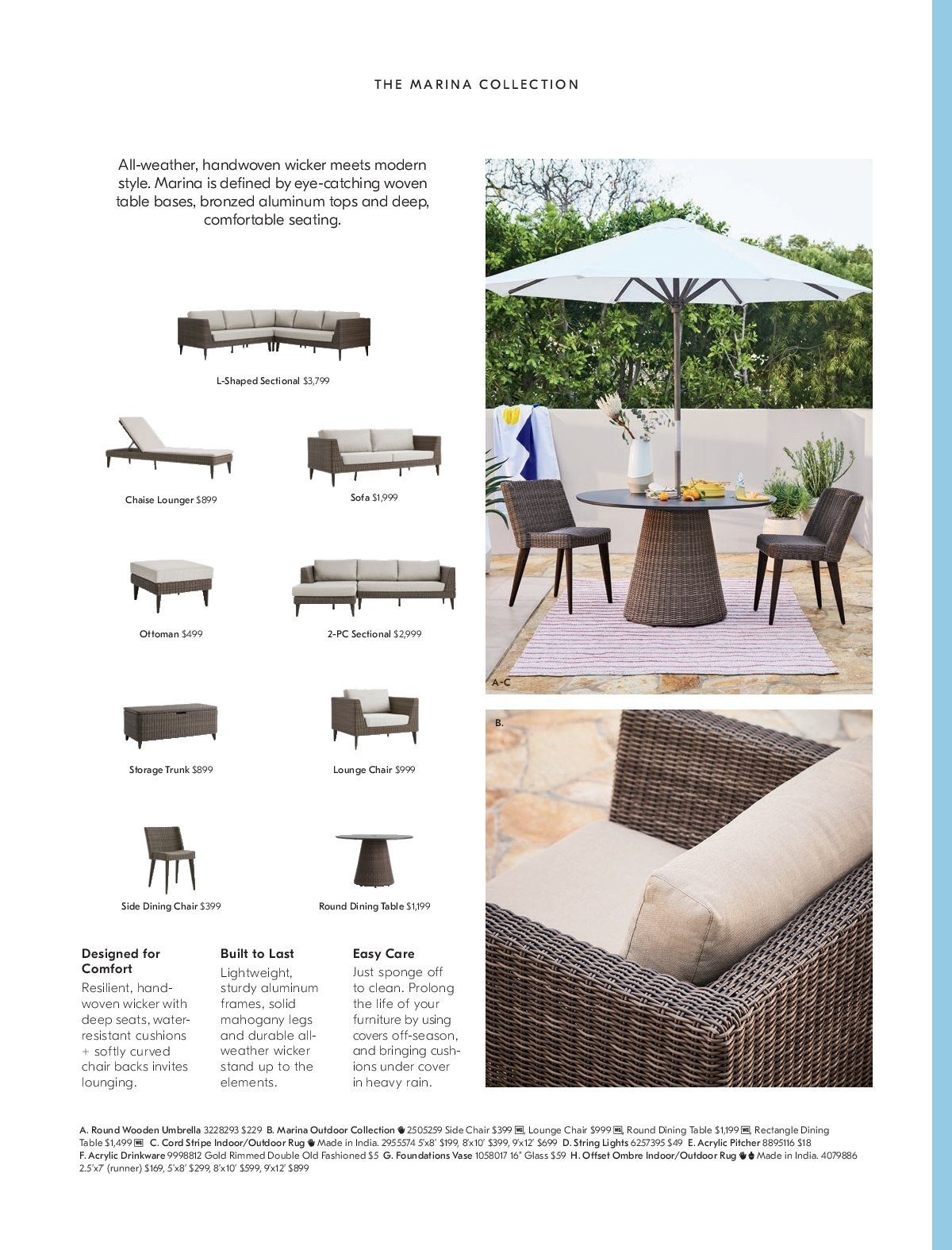 West Elm catalogue  - 1.3.2019 - 31.3.2019. Page 6.
