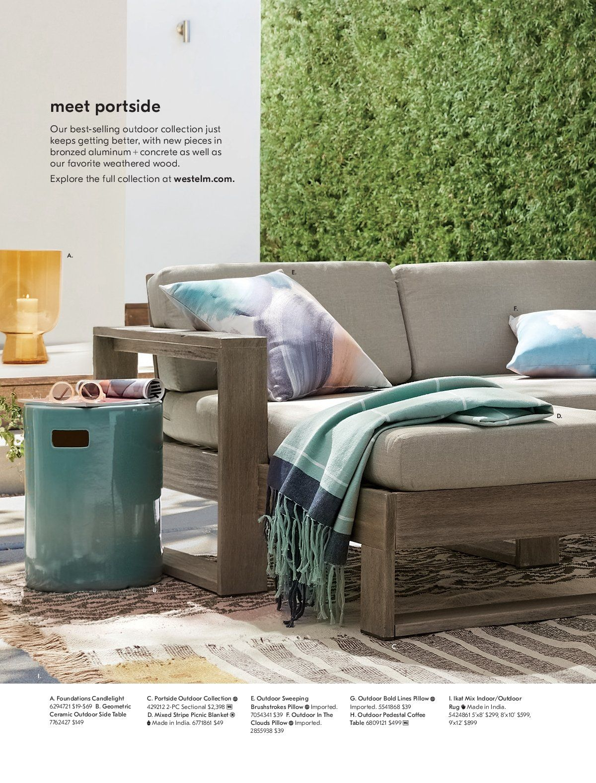West Elm catalogue  - 1.3.2019 - 31.3.2019. Page 16.