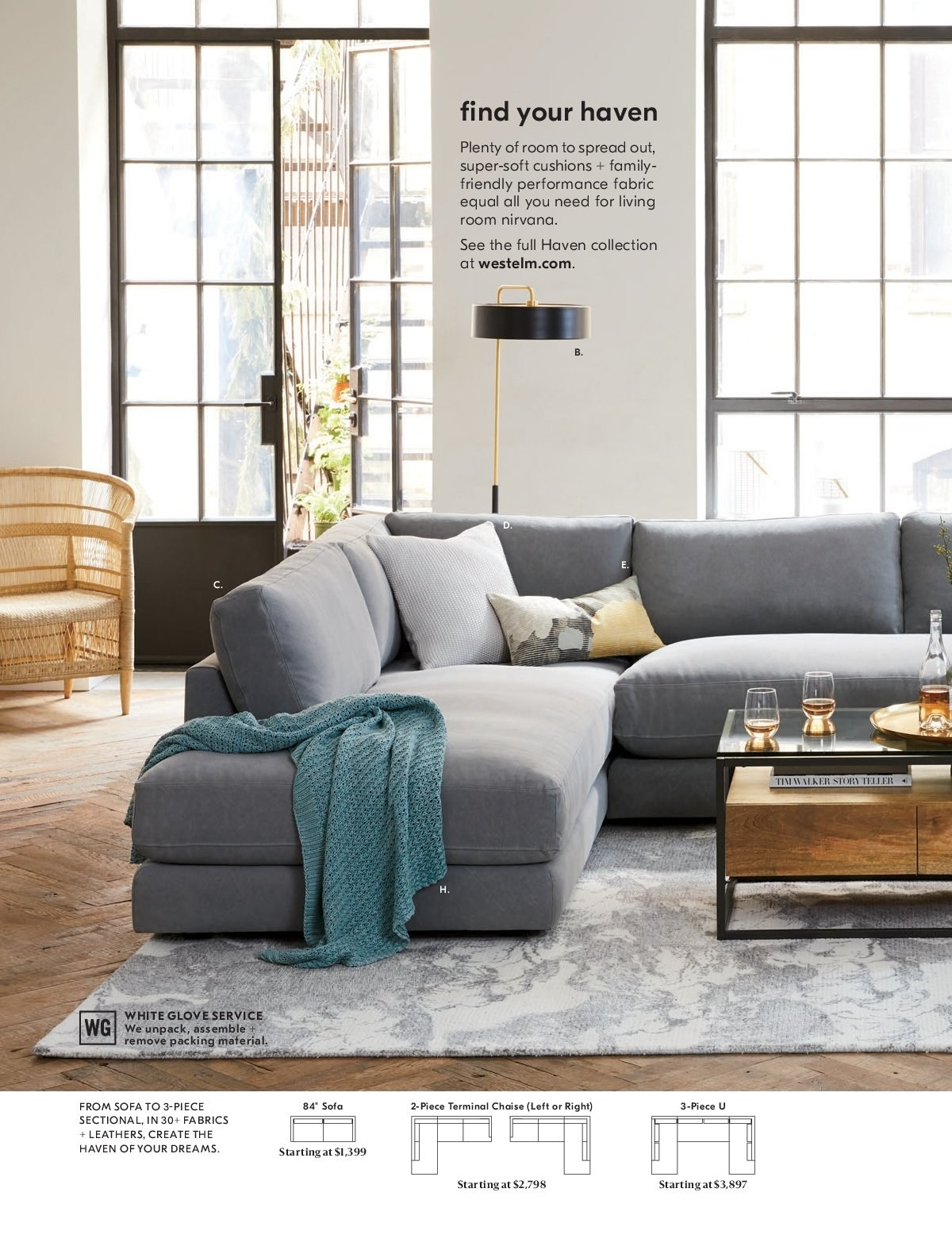 West Elm catalogue  - 1.3.2019 - 31.3.2019. Page 40.