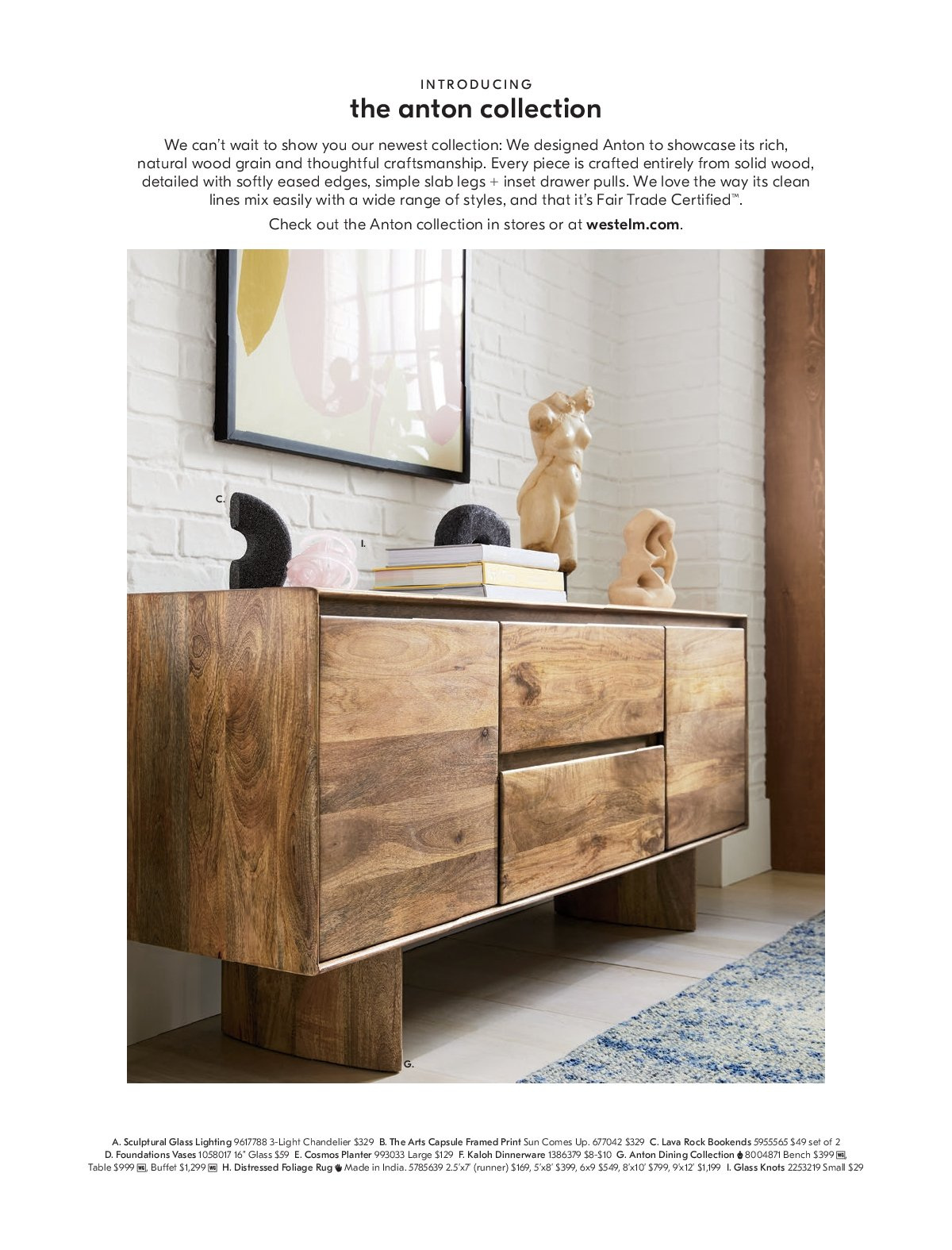 West Elm catalogue  - 1.3.2019 - 31.3.2019. Page 45.