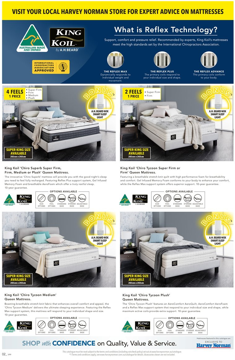 Harvey Norman catalogue  - 23.3.2019 - 14.4.2019. Page 2.
