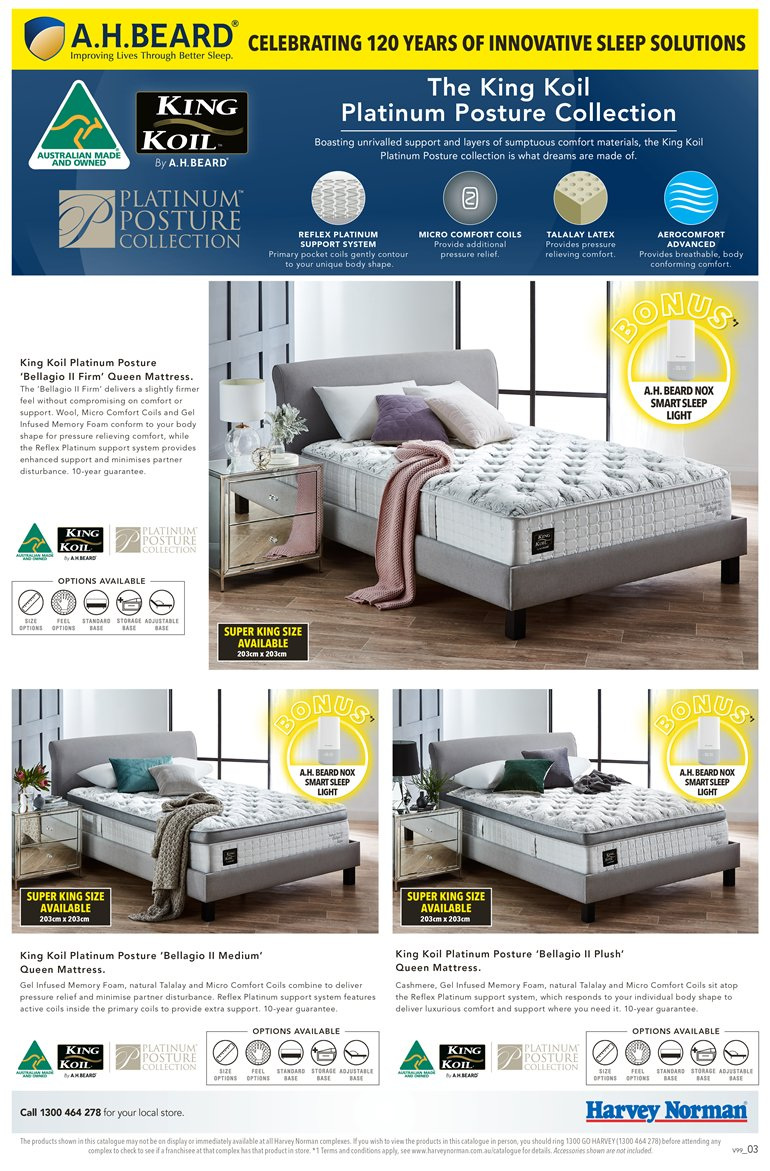Harvey Norman catalogue  - 23.3.2019 - 14.4.2019. Page 3.