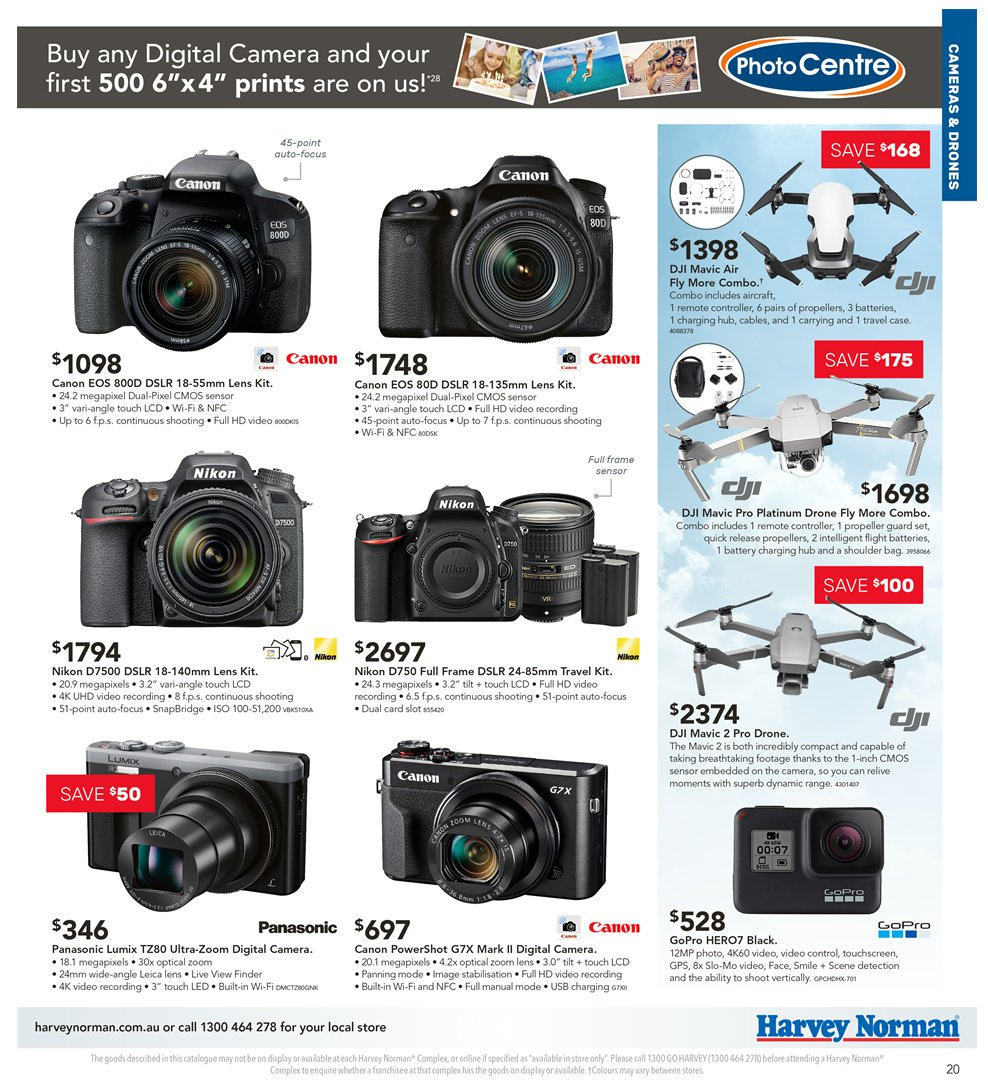 Harvey Norman catalogue  - 5.4.2019 - 21.4.2019. Page 20.