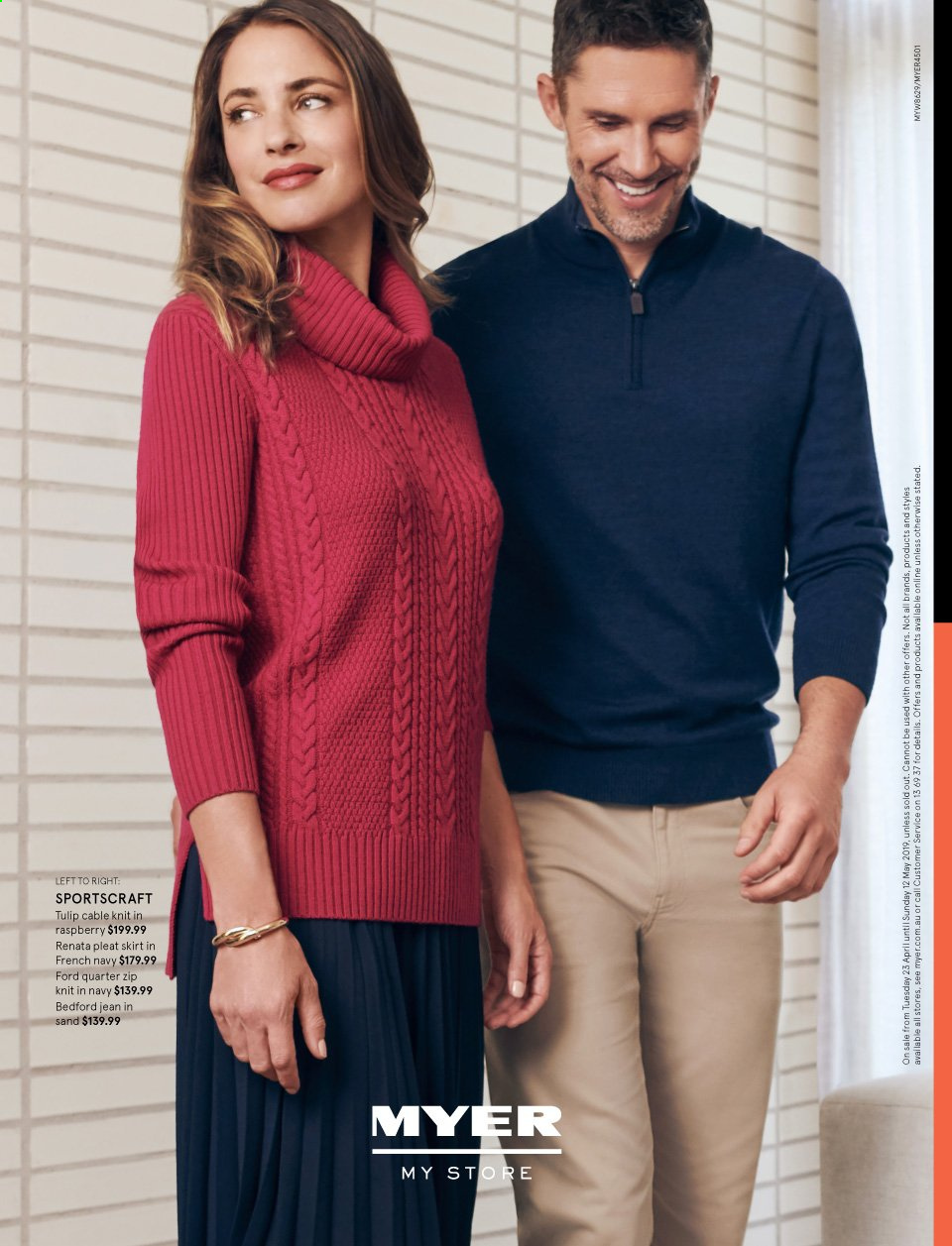 Myer catalogue  - 23.4.2019 - 12.5.2019. Page 24.