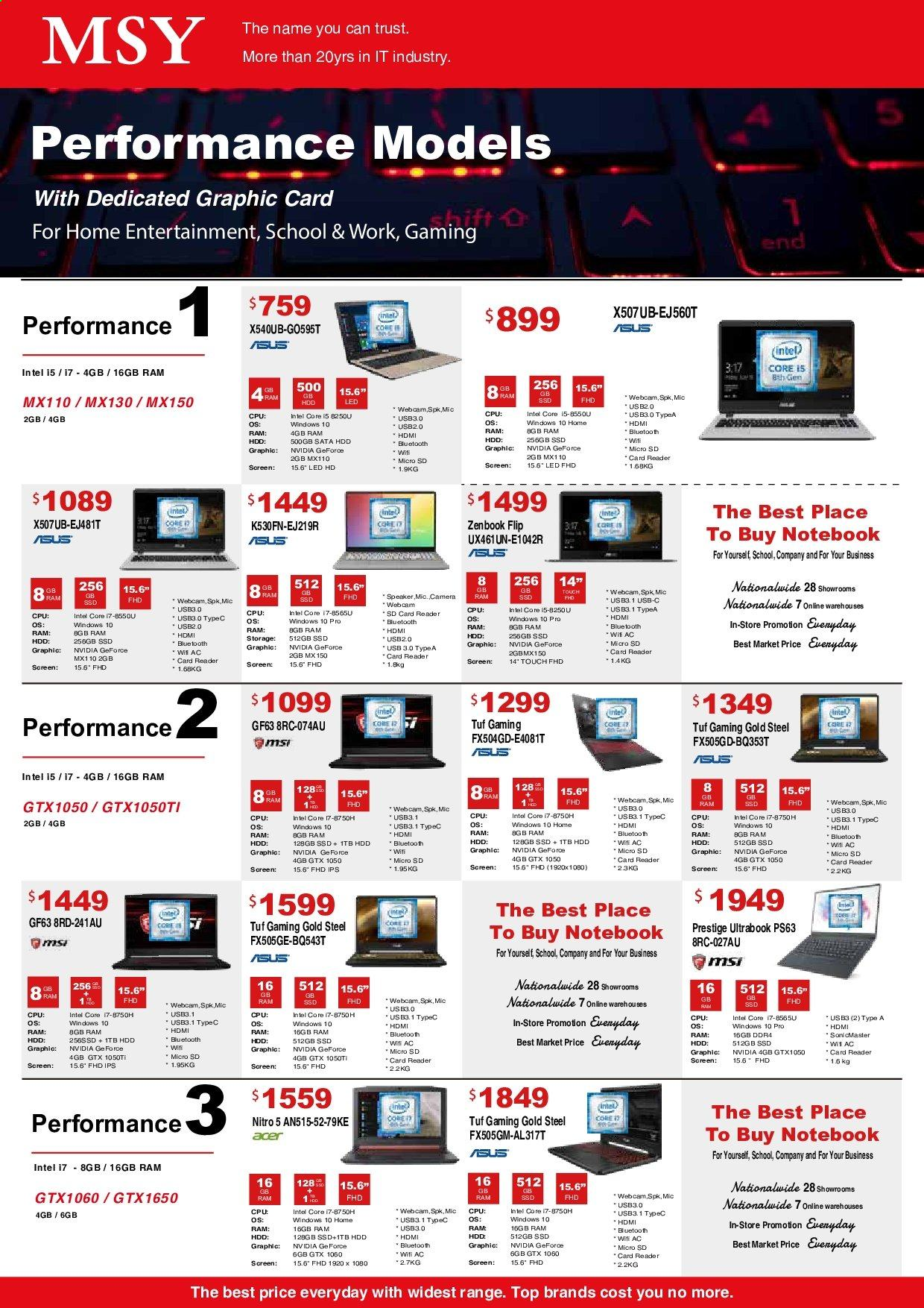 MSY Technology catalogue . Page 10.