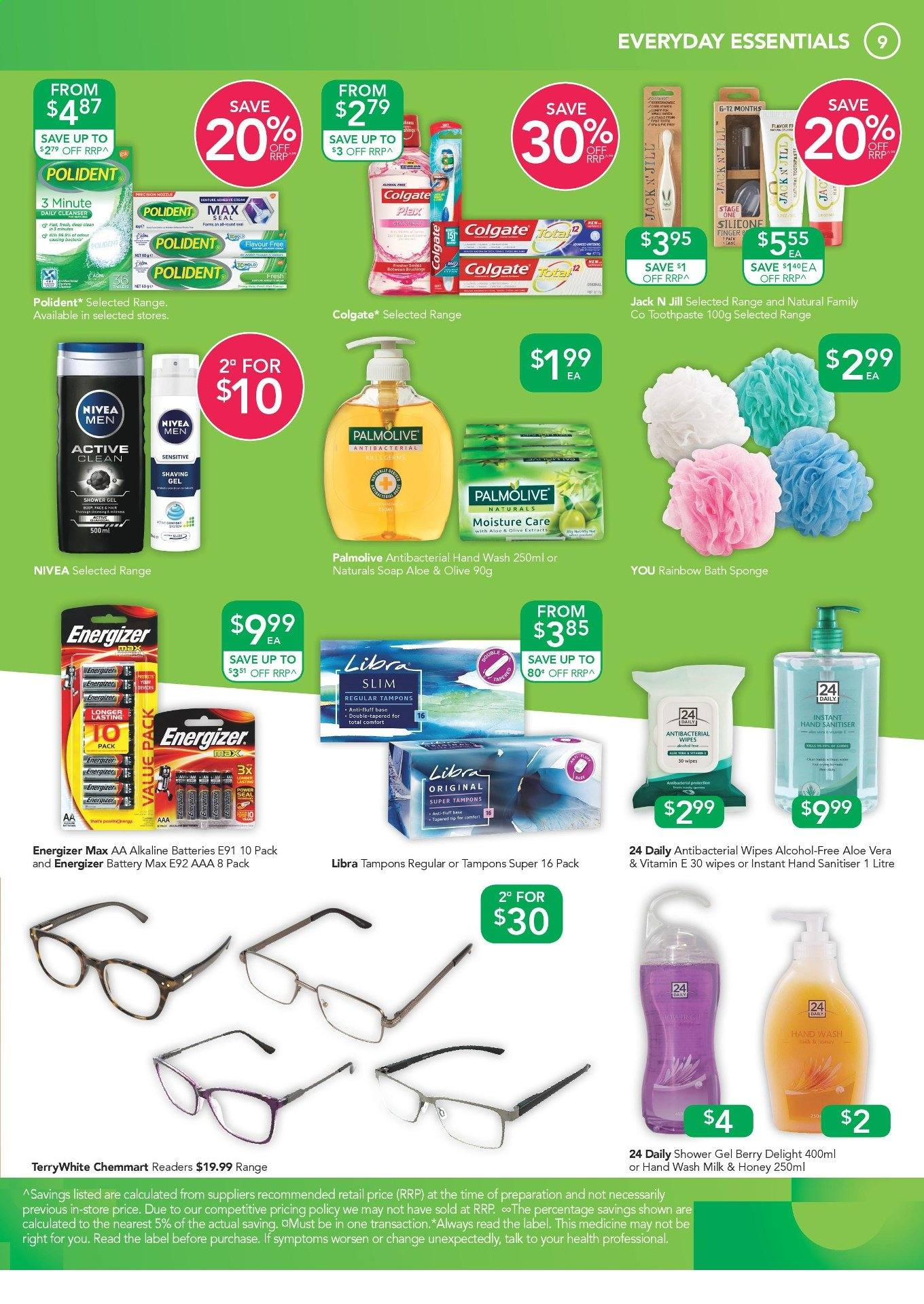 TerryWhite Chemmart catalogue  - 25.4.2019 - 14.5.2019. Page 9.