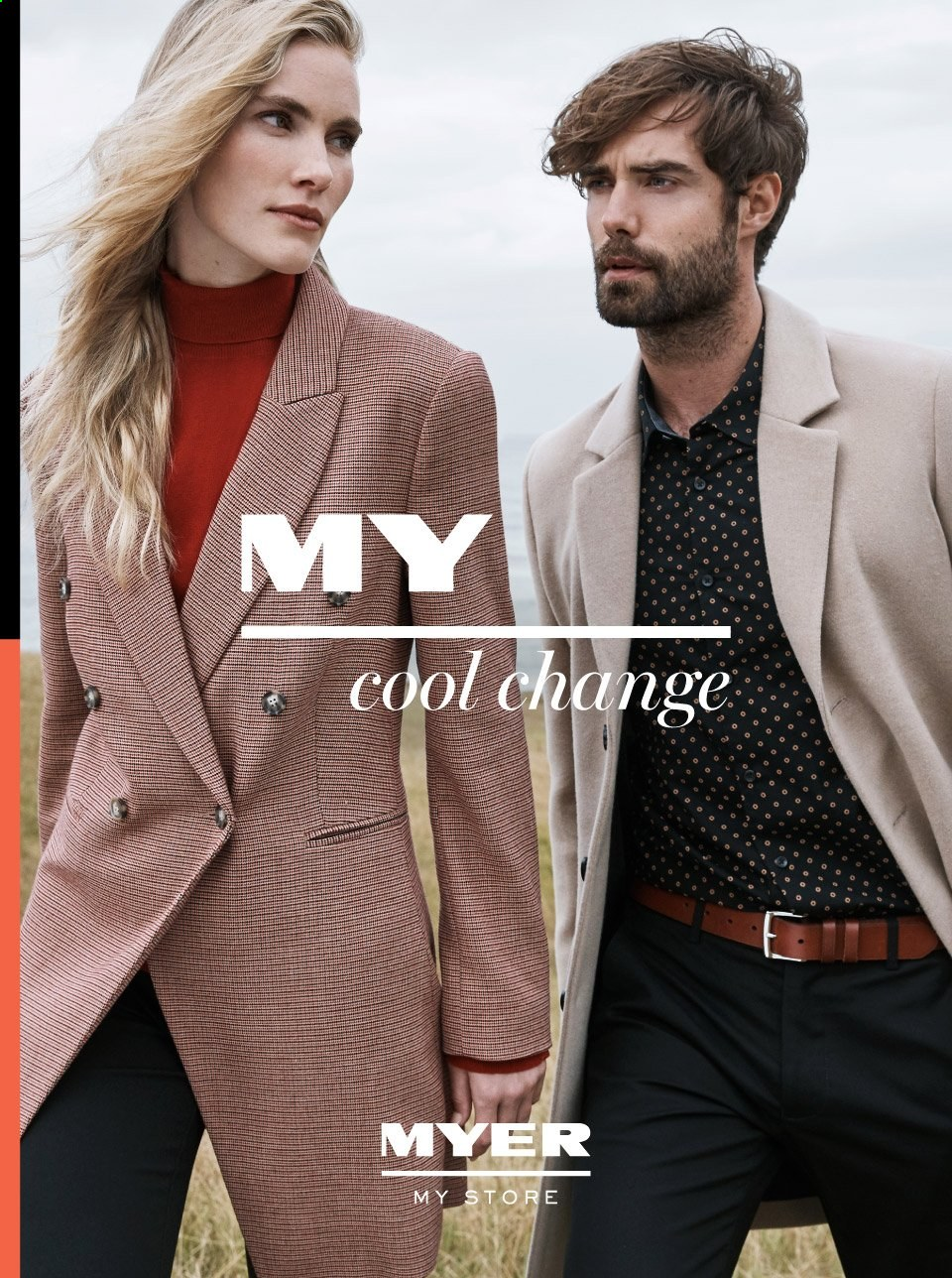 Myer catalogue  - 29.4.2019 - 26.5.2019. Page 1.