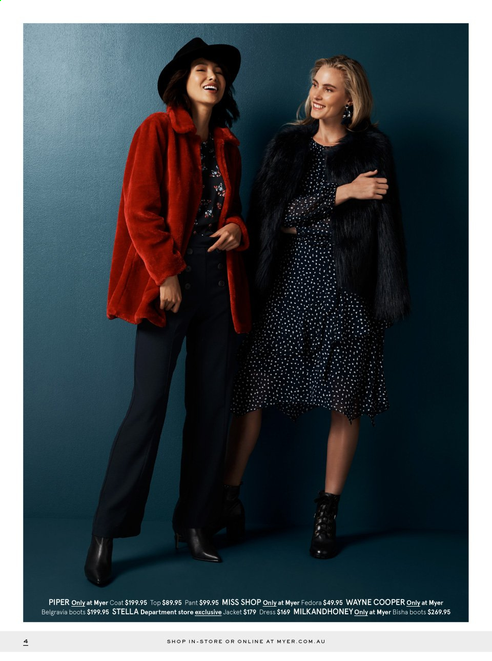 Myer catalogue  - 29.4.2019 - 26.5.2019. Page 4.