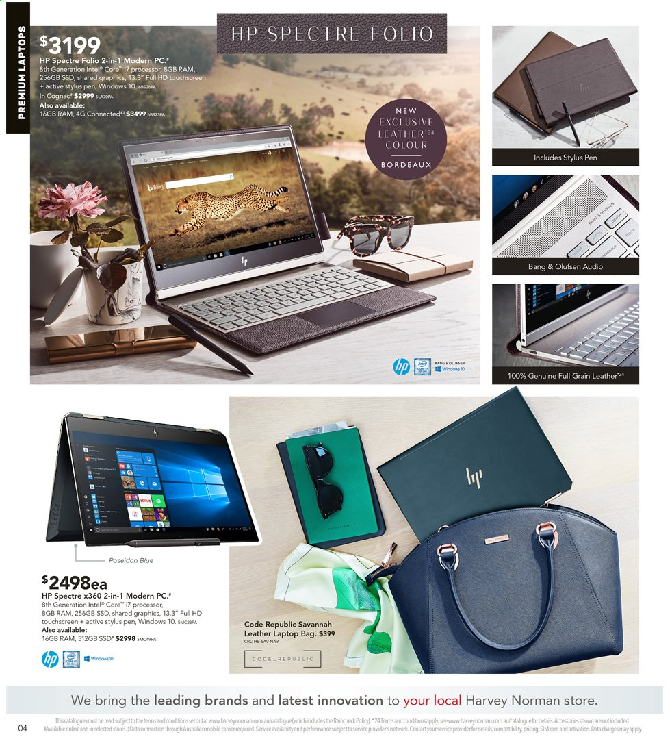Harvey Norman catalogue  - 3.5.2019 - 19.5.2019. Page 4.