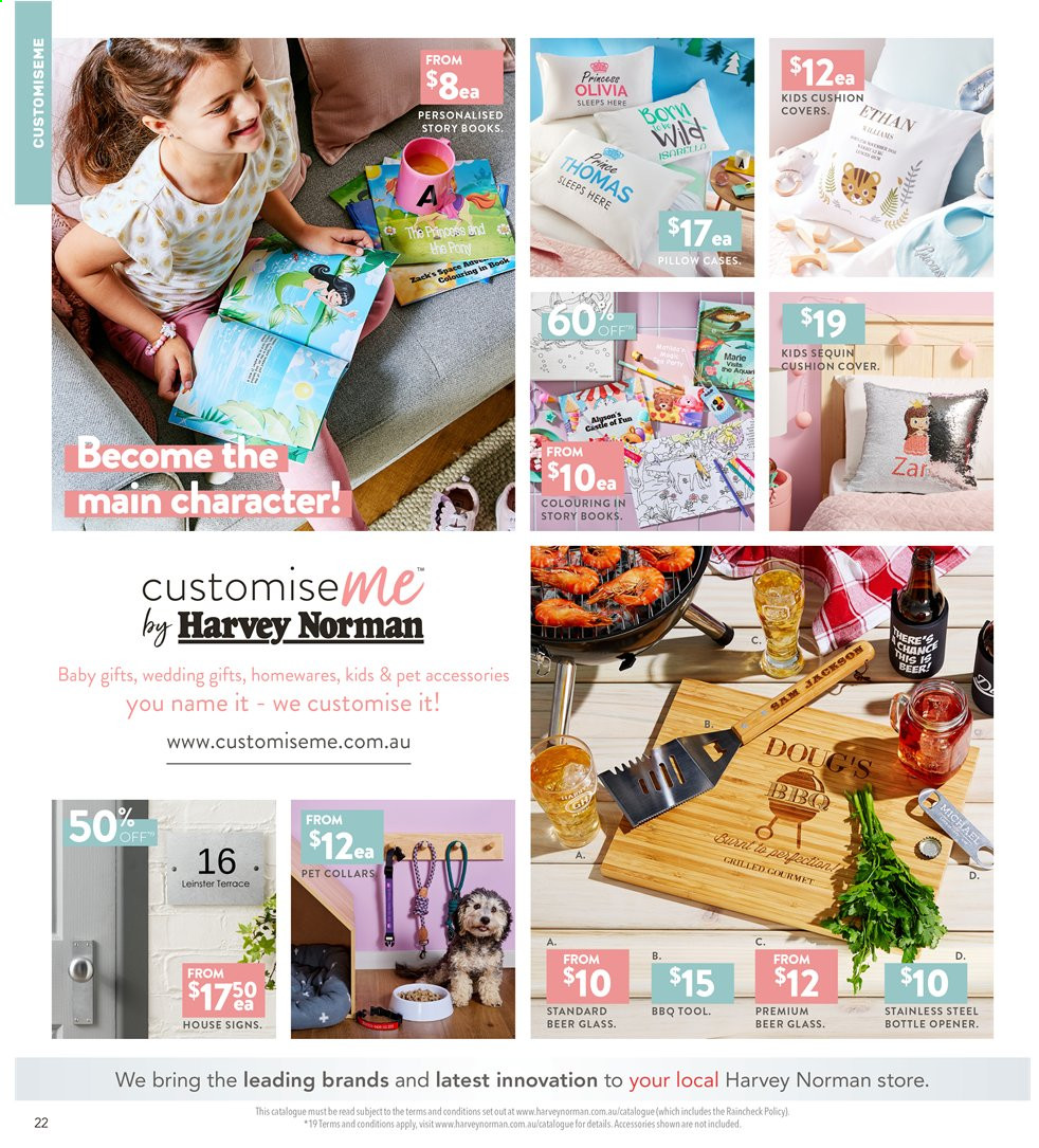 Harvey Norman catalogue  - 3.5.2019 - 19.5.2019. Page 22.