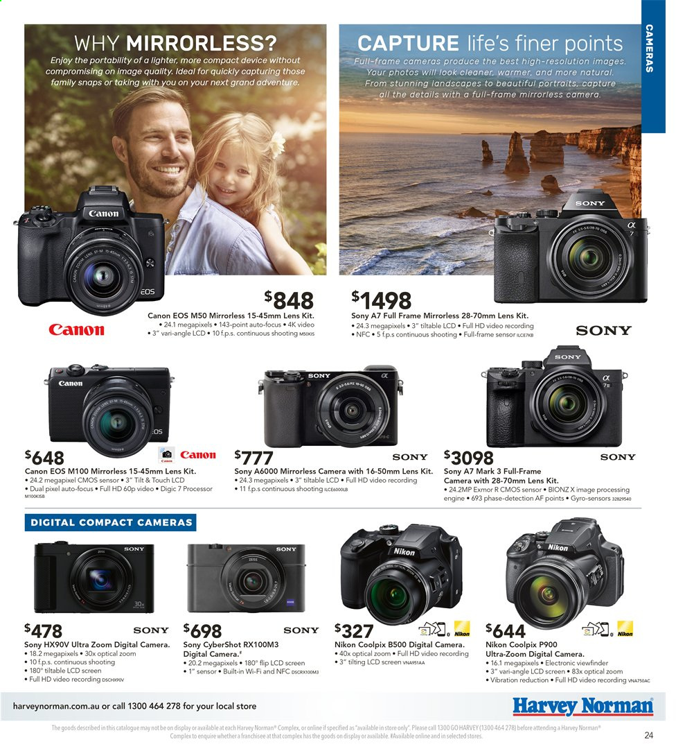 Harvey Norman catalogue  - 3.5.2019 - 19.5.2019. Page 25.