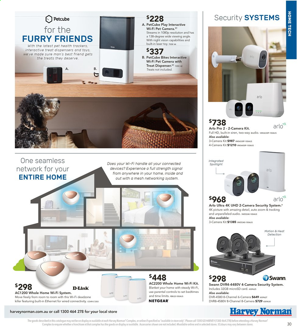 Harvey Norman catalogue  - 3.5.2019 - 19.5.2019. Page 31.