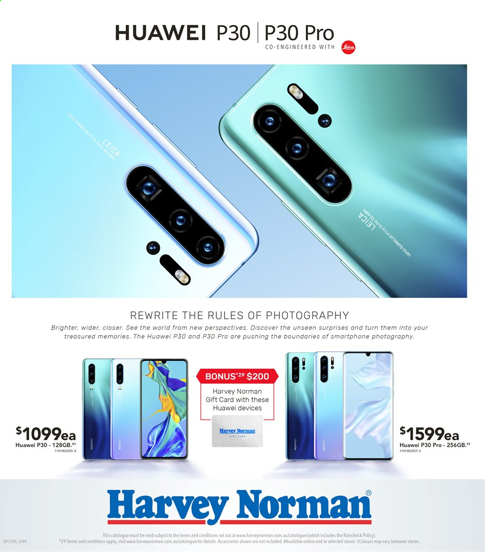 Harvey Norman catalogue  - 3.5.2019 - 19.5.2019. Page 40.