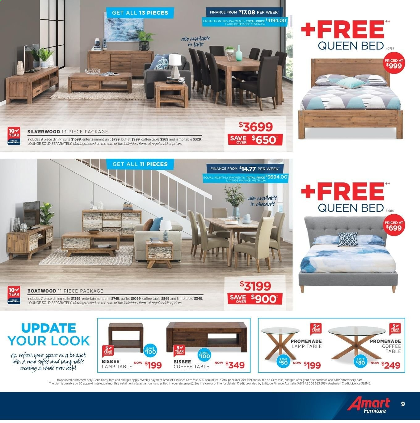 Amart Furniture catalogue  - 8.5.2019 - 4.6.2019. Page 9.