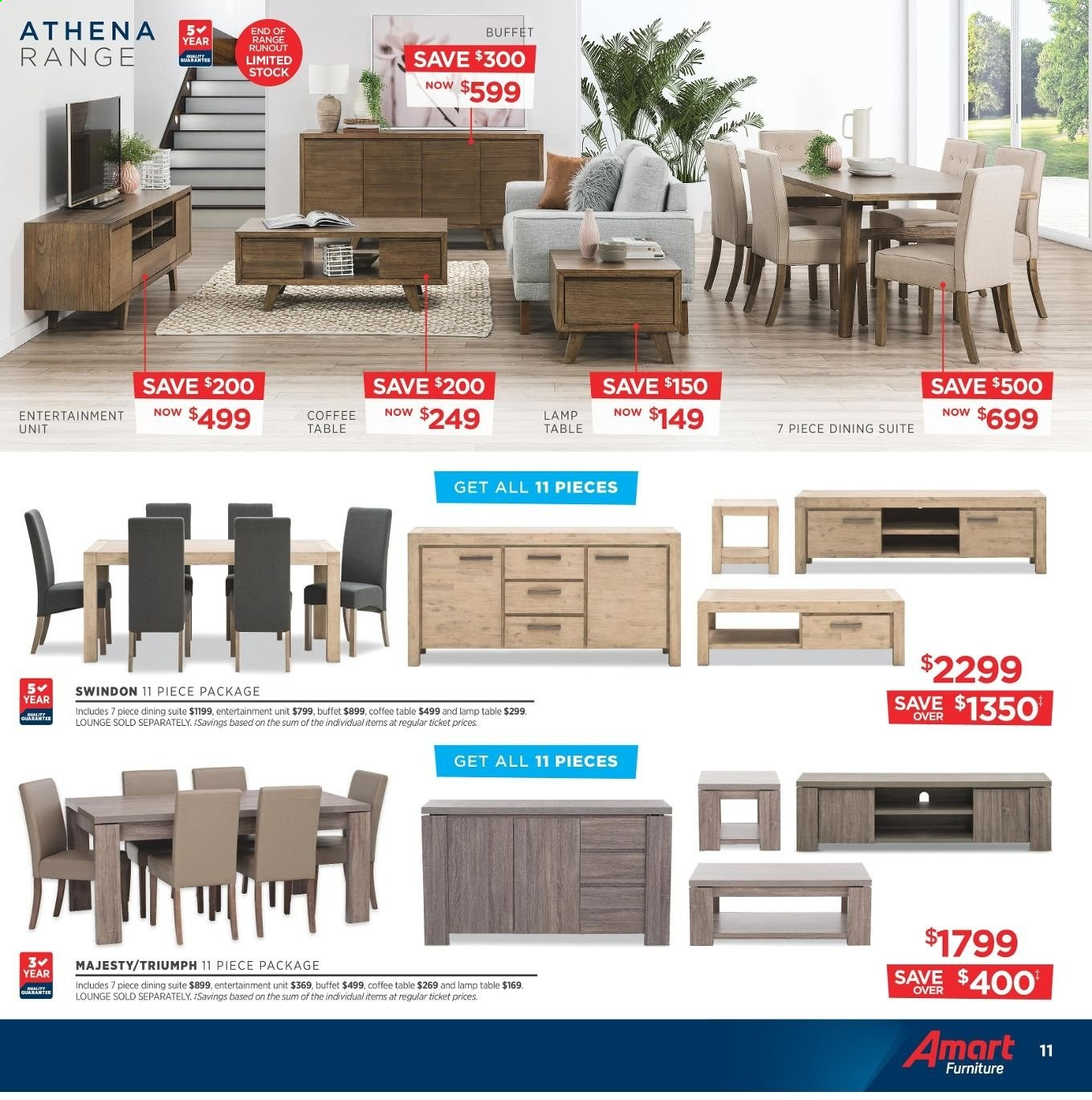 Amart Furniture catalogue  - 8.5.2019 - 4.6.2019. Page 11.
