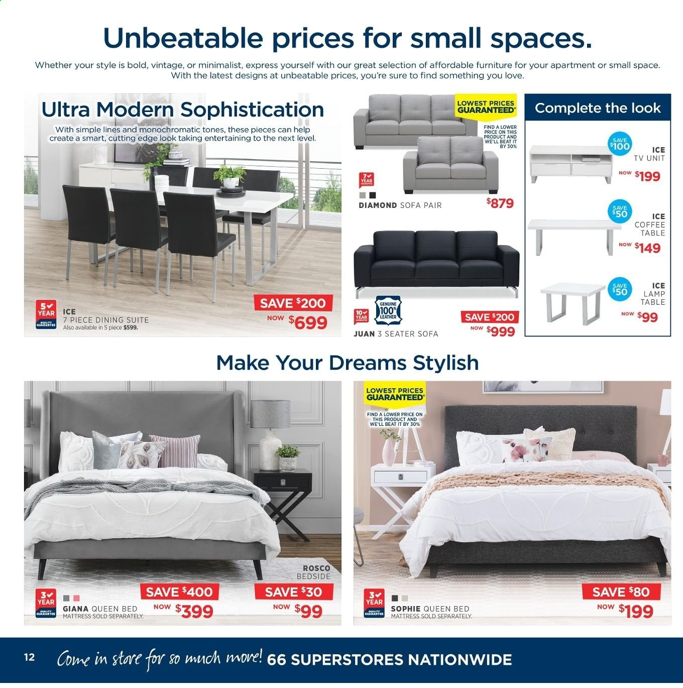Amart Furniture catalogue  - 8.5.2019 - 4.6.2019. Page 12.