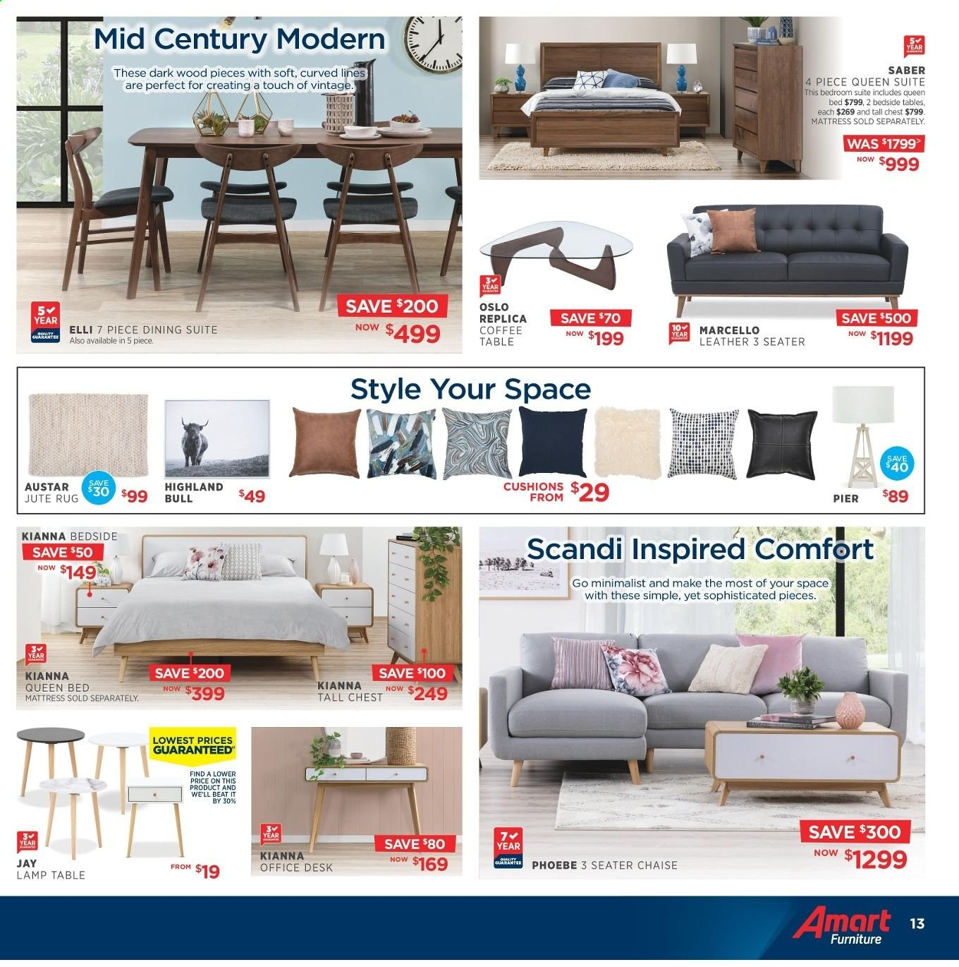 Amart Furniture catalogue  - 8.5.2019 - 4.6.2019. Page 13.