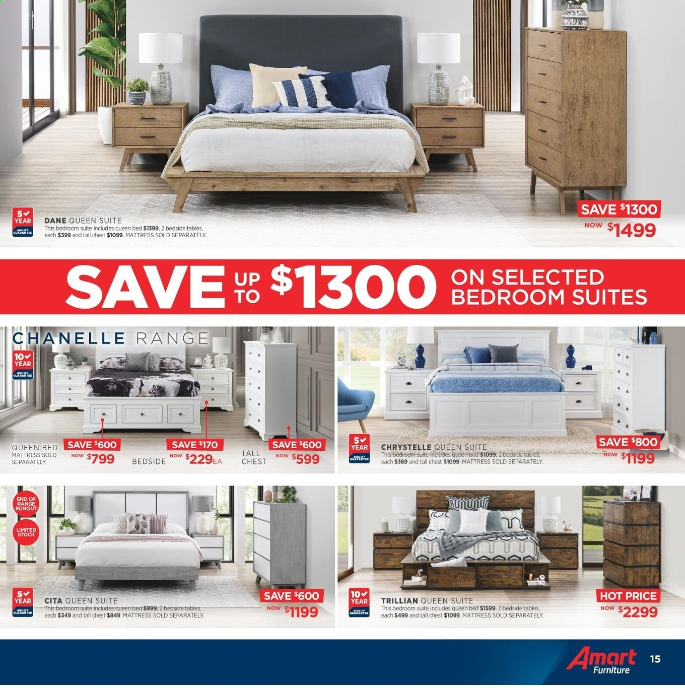 Amart Furniture catalogue  - 8.5.2019 - 4.6.2019. Page 15.