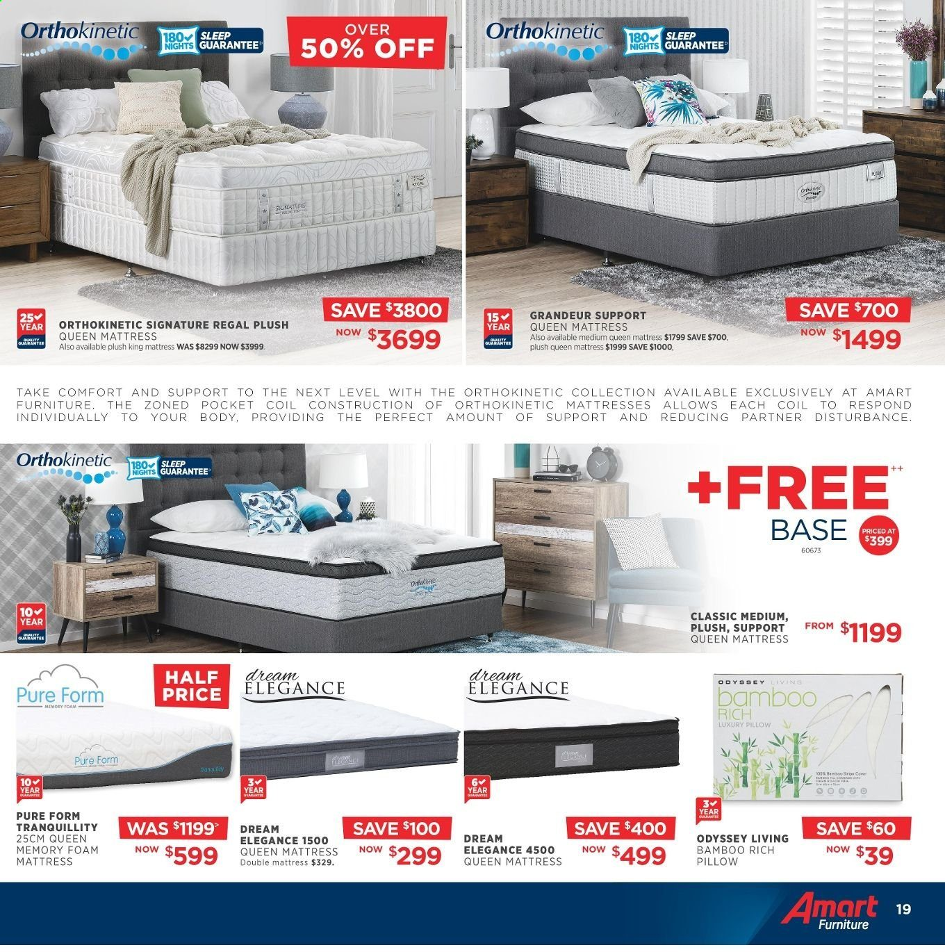 Amart Furniture catalogue  - 8.5.2019 - 4.6.2019. Page 19.
