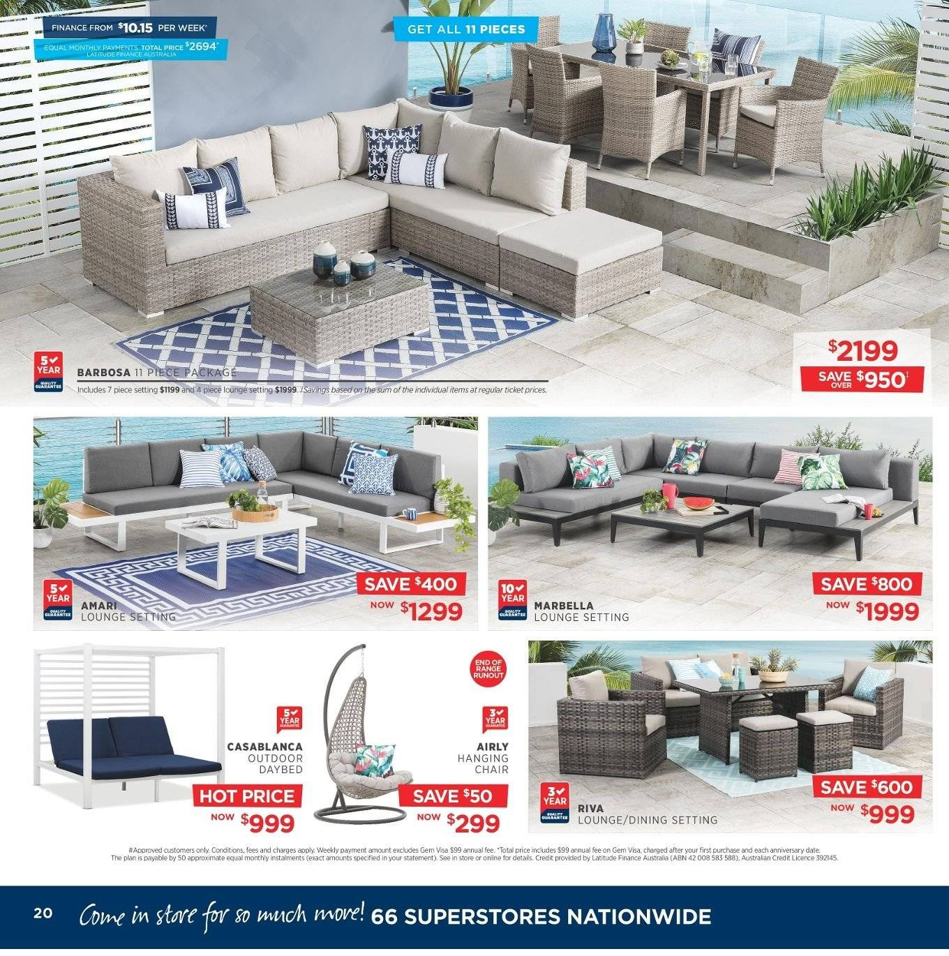 Amart Furniture catalogue  - 8.5.2019 - 4.6.2019. Page 20.