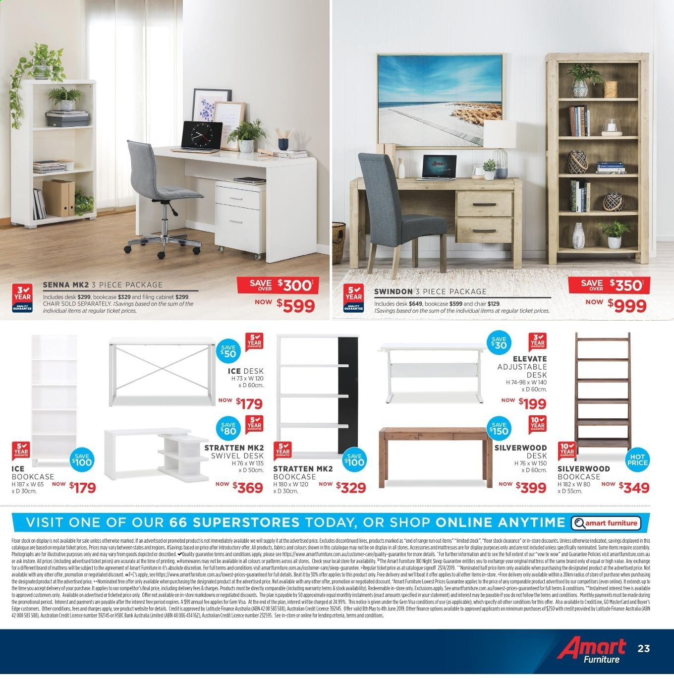 Amart Furniture catalogue  - 8.5.2019 - 4.6.2019. Page 23.