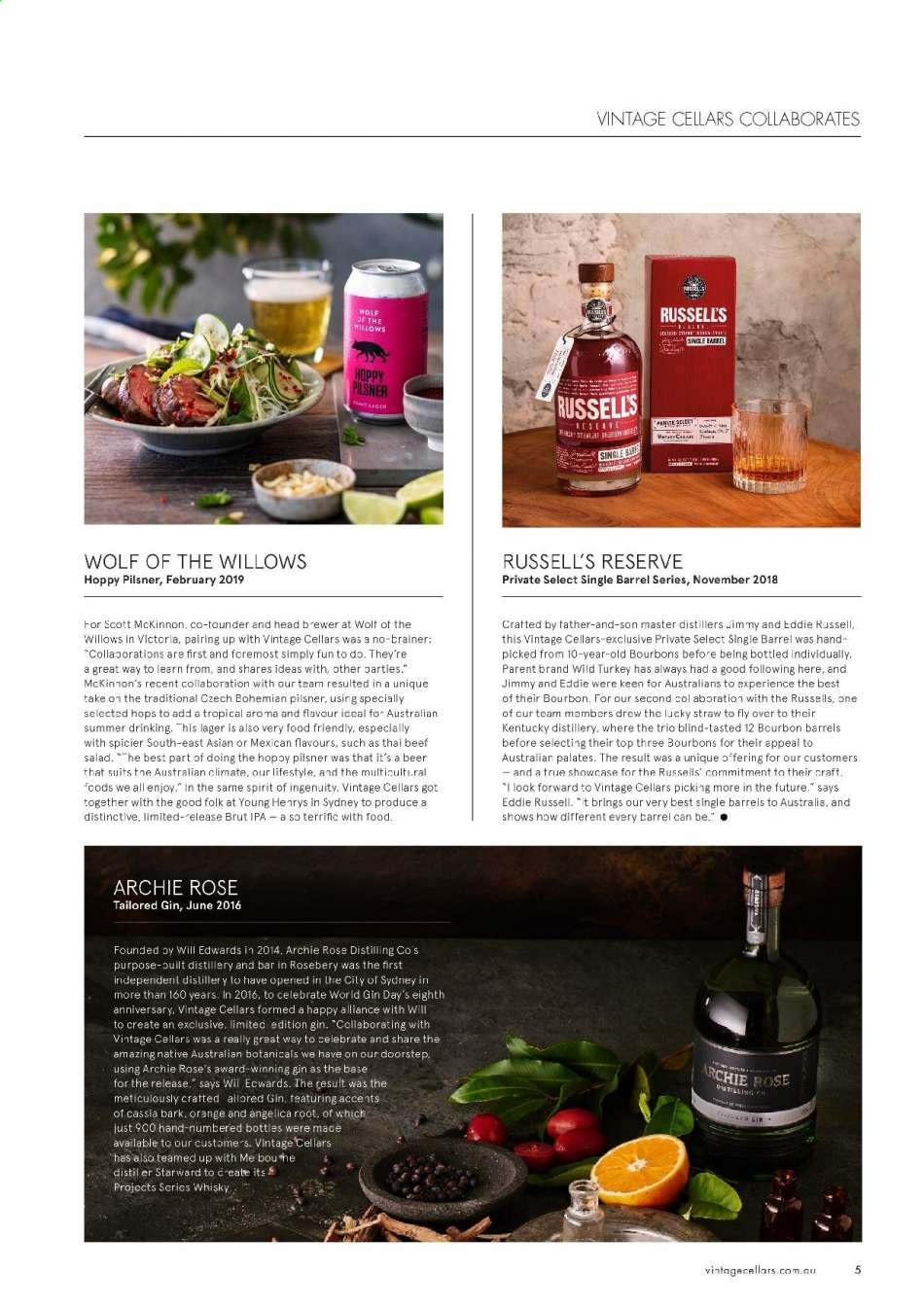Vintage Cellars catalogue  - 15.5.2019 - 2.7.2019. Page 5.