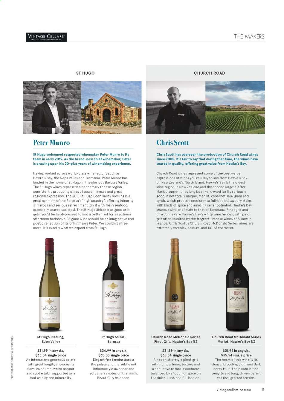 Vintage Cellars catalogue  - 15.5.2019 - 2.7.2019. Page 11.