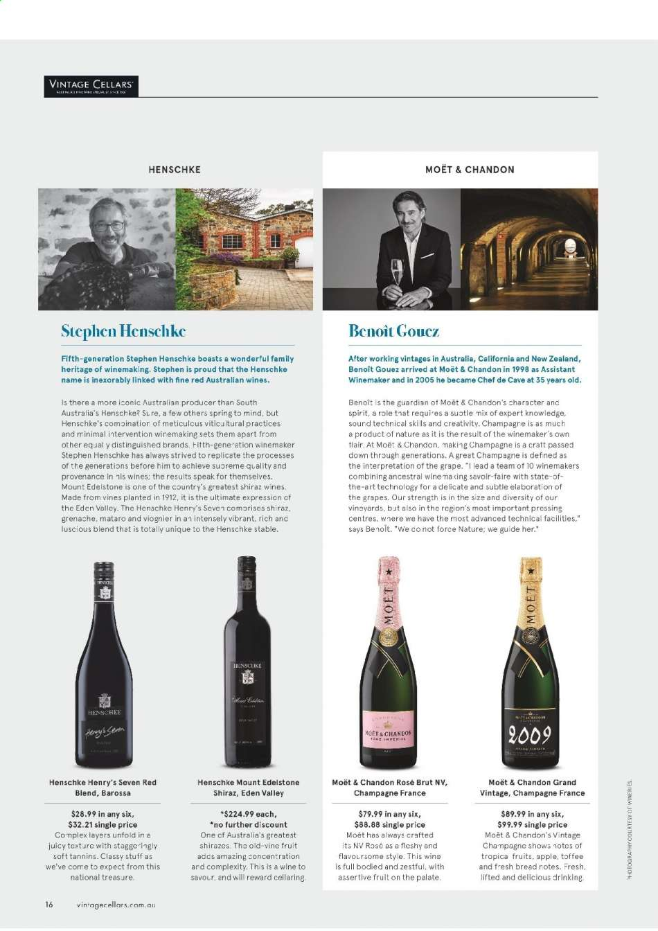 Vintage Cellars catalogue  - 15.5.2019 - 2.7.2019. Page 16.