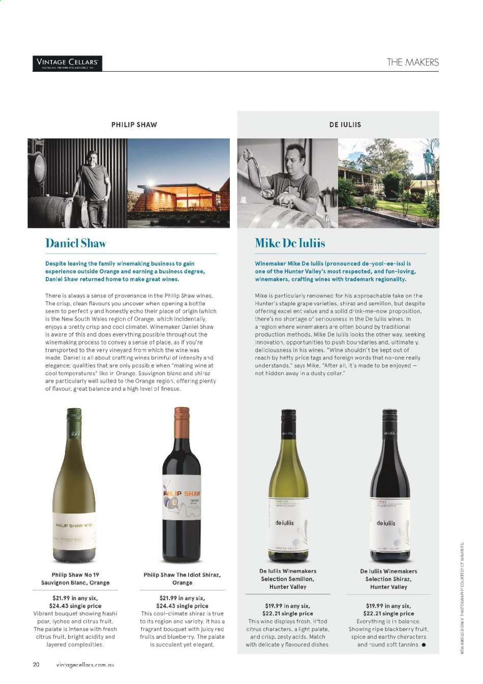 Vintage Cellars catalogue  - 15.5.2019 - 2.7.2019. Page 20.