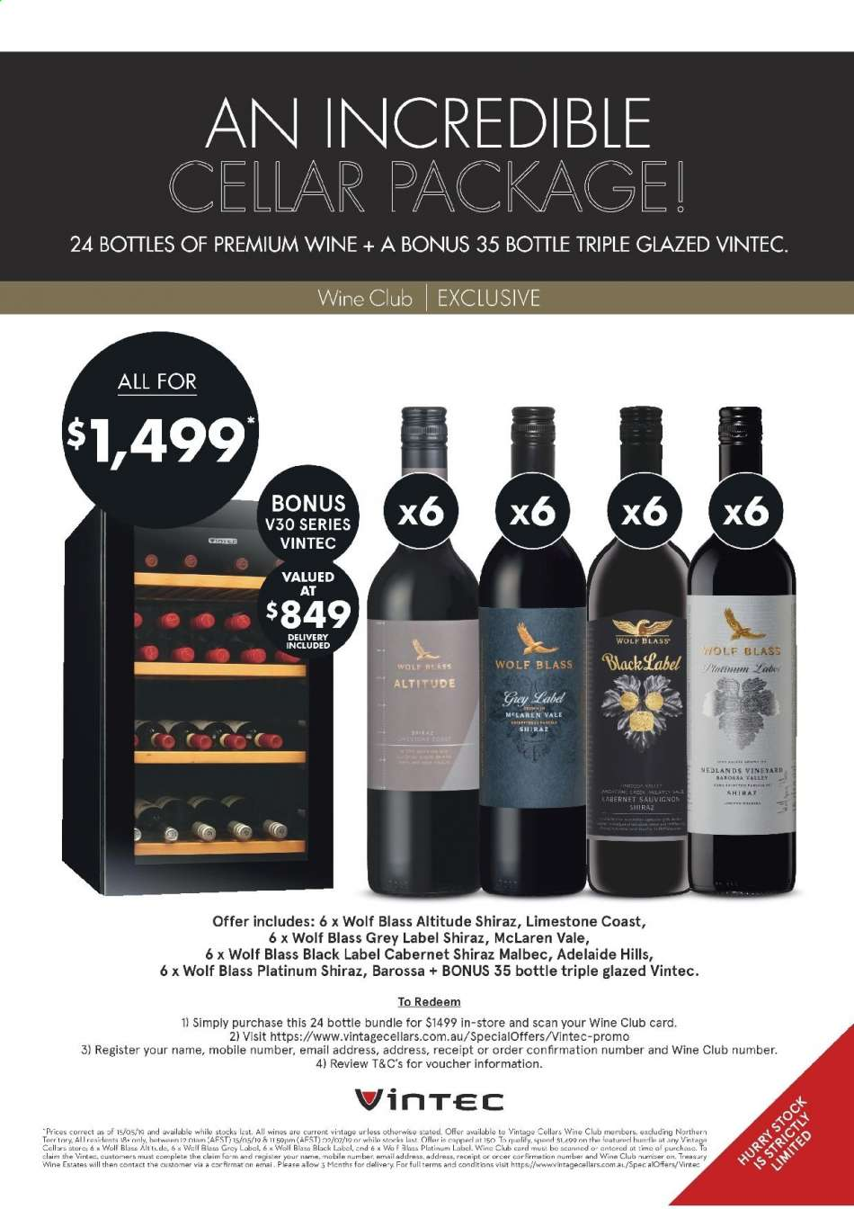 Vintage Cellars catalogue  - 15.5.2019 - 2.7.2019. Page 52.