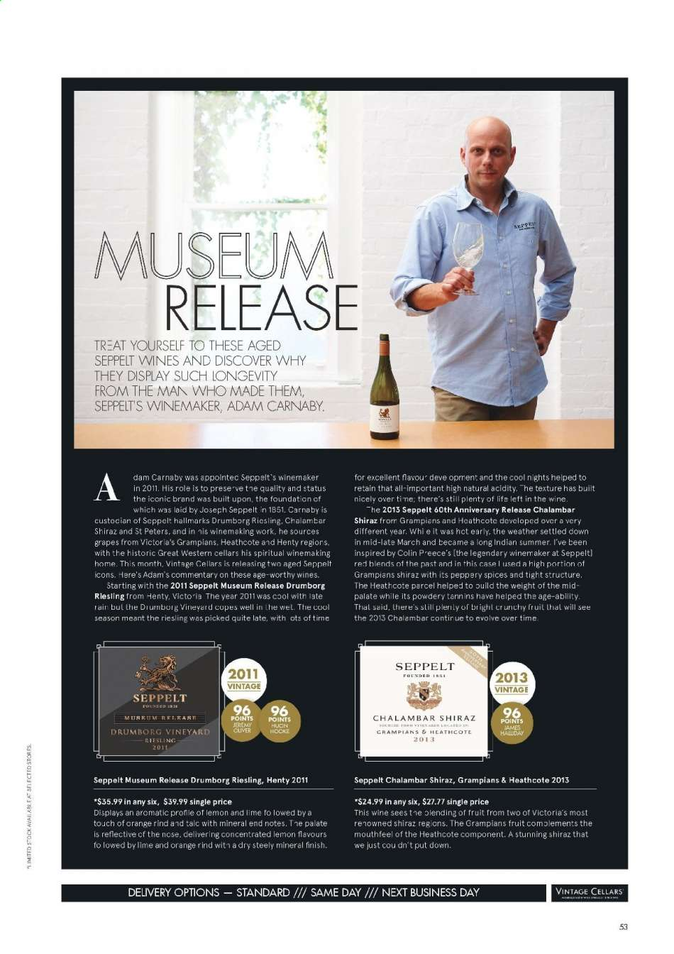 Vintage Cellars catalogue  - 15.5.2019 - 2.7.2019. Page 53.