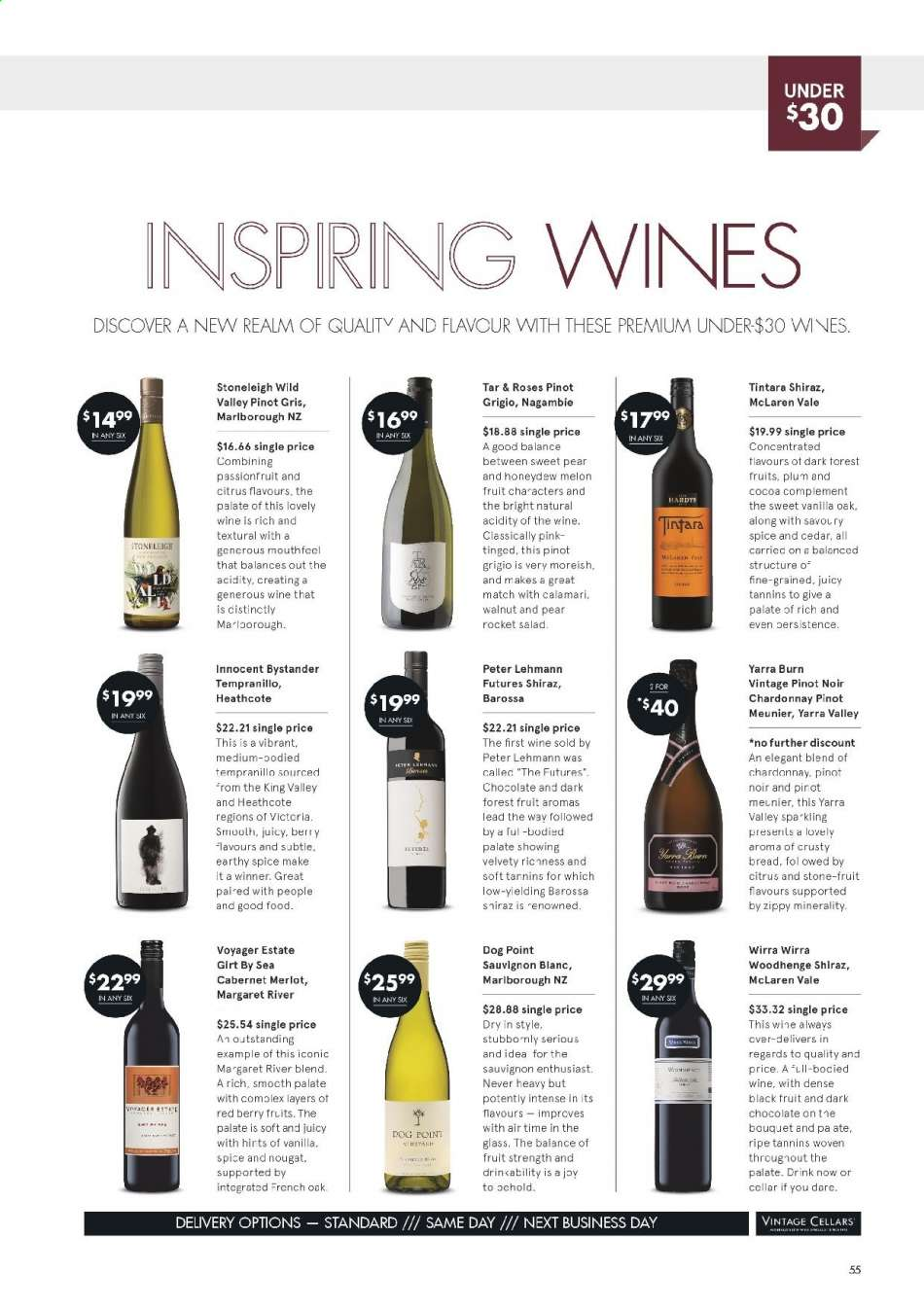 Vintage Cellars catalogue  - 15.5.2019 - 2.7.2019. Page 55.
