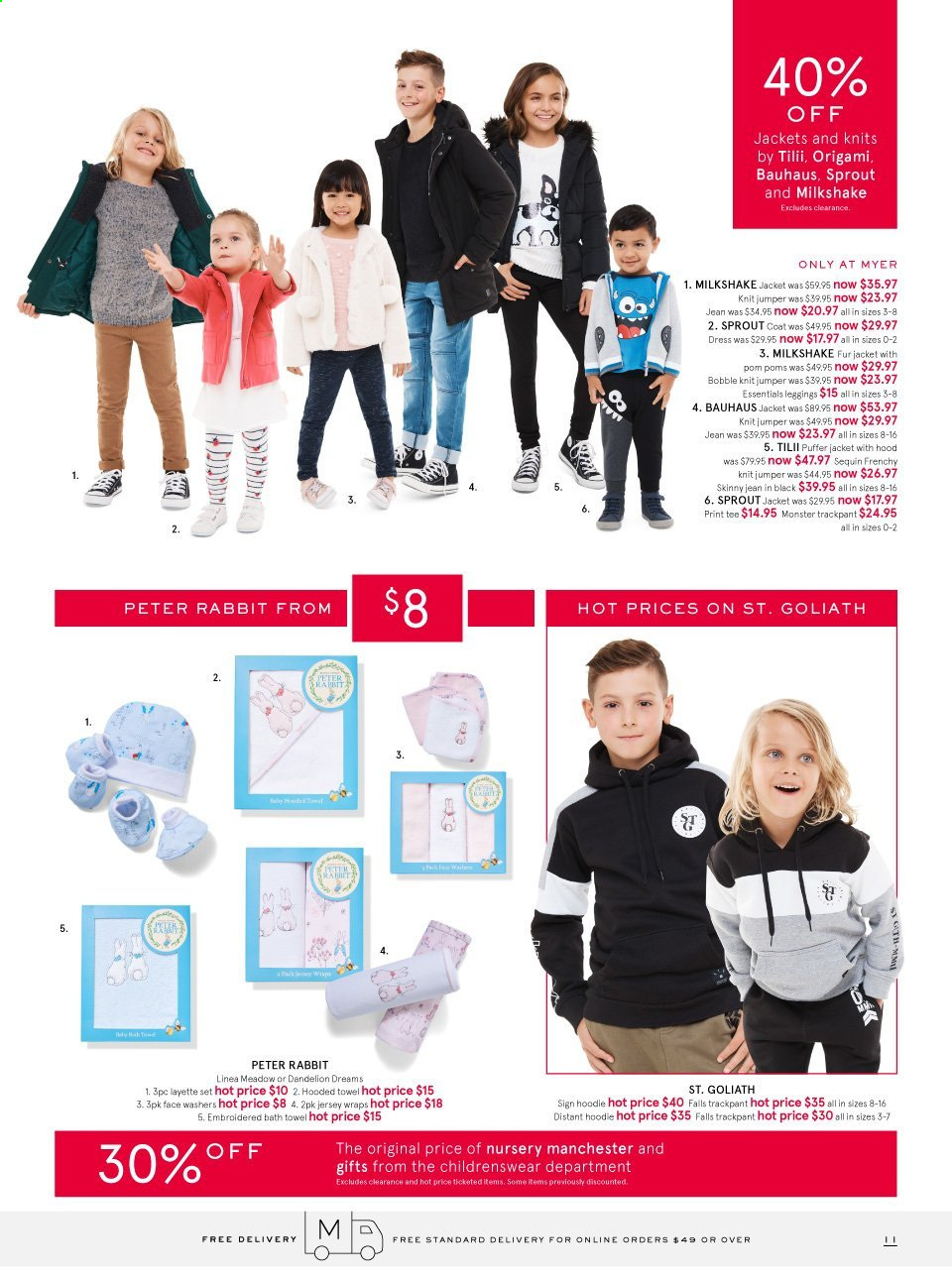 Myer catalogue . Page 11.